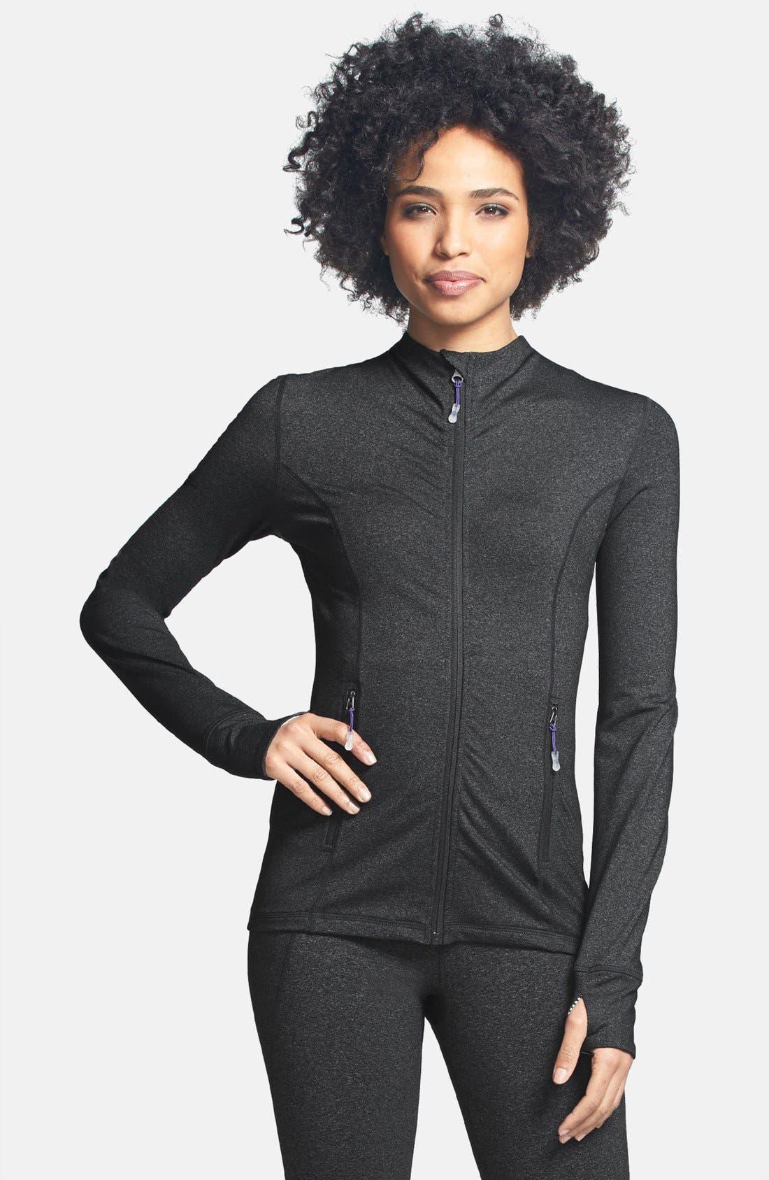 Alternate Image 1 Selected - MSP by Miraclesuit® Miraslim Seamed Long Sleeve Jacket