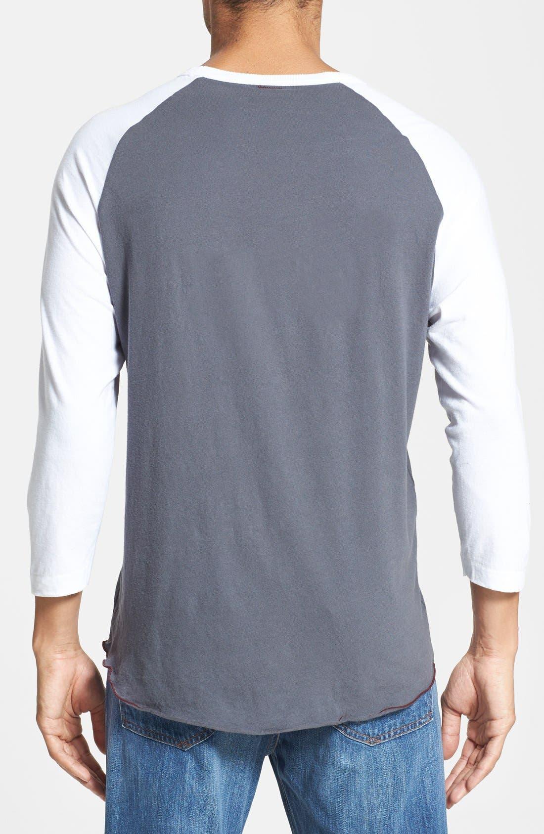 Alternate Image 2  - Todd Snyder + Champion Baseball T-Shirt