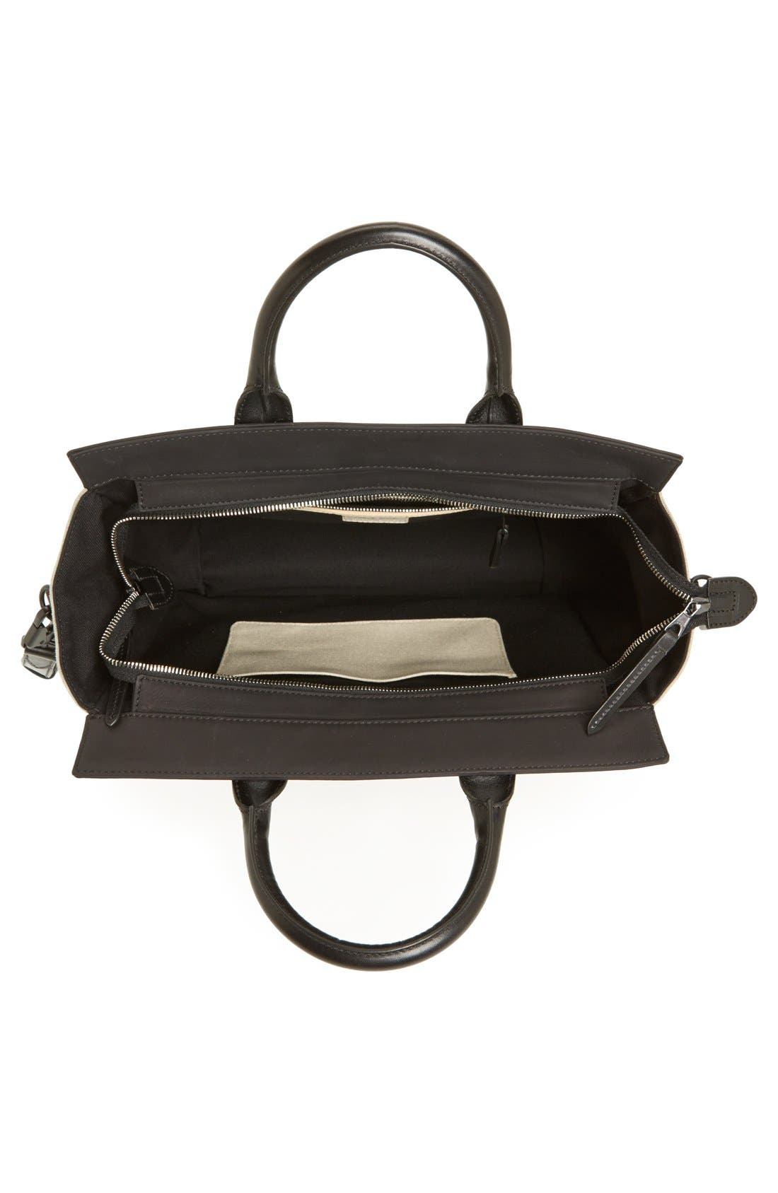 Alternate Image 3  - rag & bone 'Large Pilot' Canvas Satchel