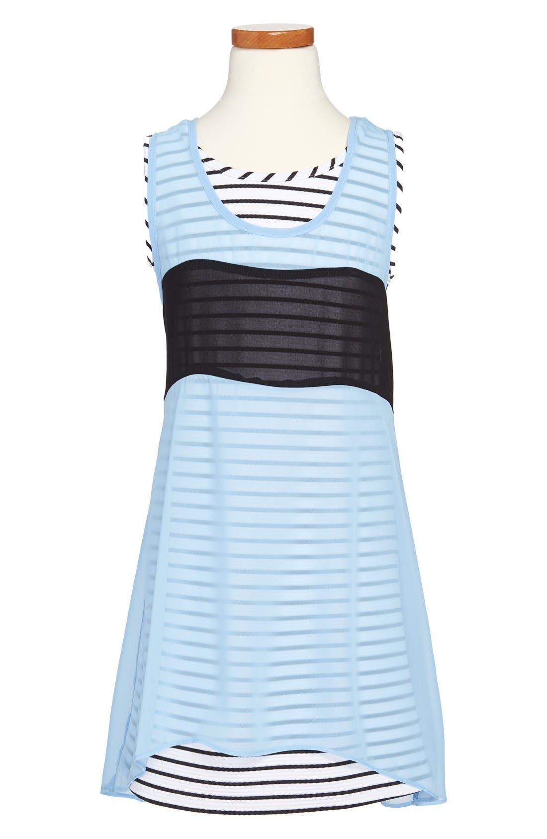 Alternate Image 1 Selected - Sally Miller 'OC' Dress (Big Girls)