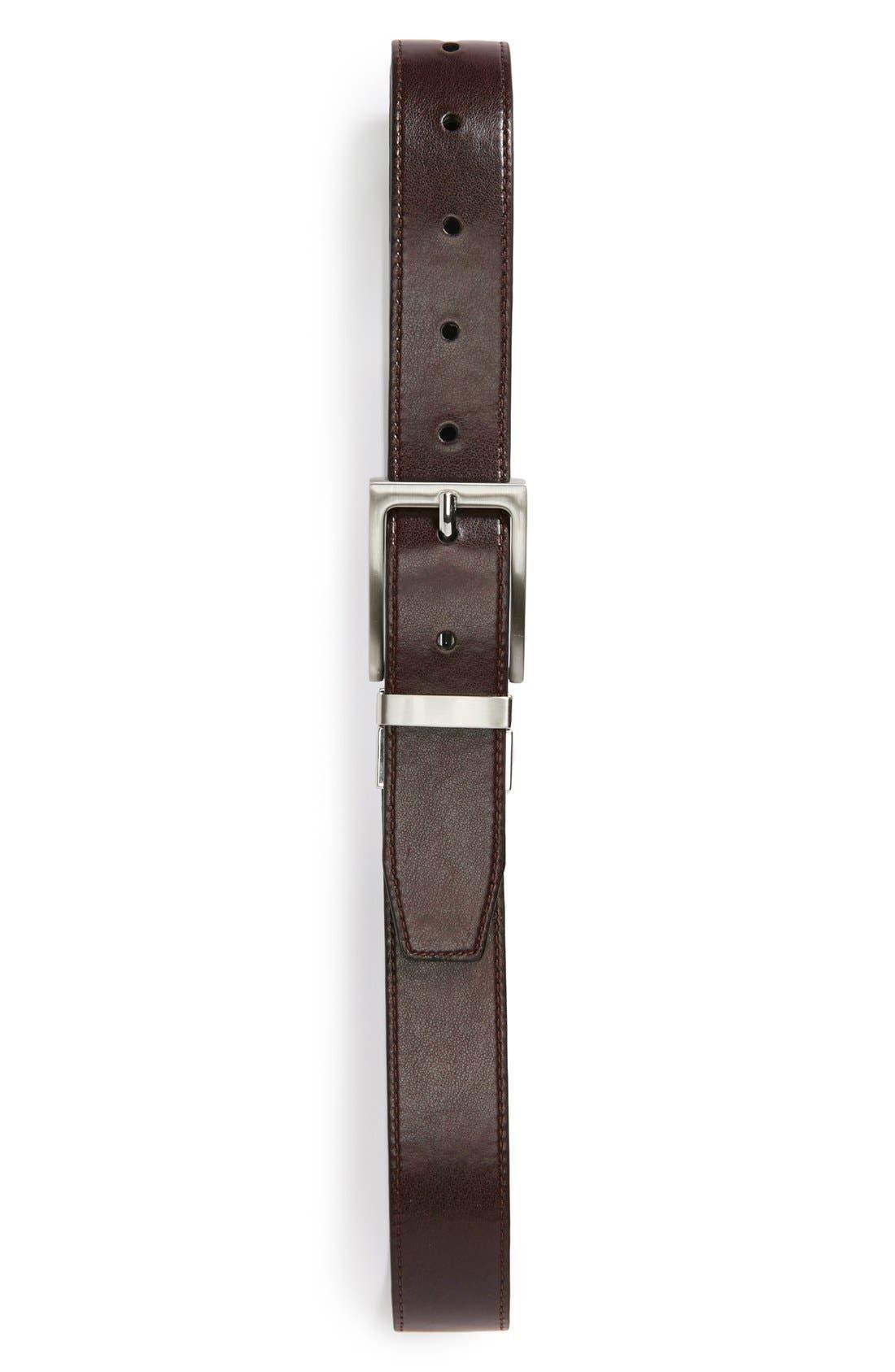 Alternate Image 3  - Nordstrom Reversible Faux Leather Belt (Big Boys)