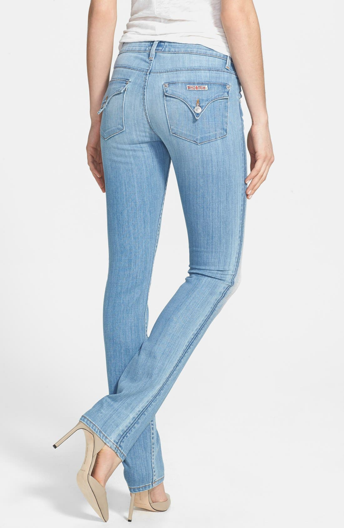Alternate Image 2  - Hudson Jeans 'Carly' Straight Leg Jeans (I Got Soul)