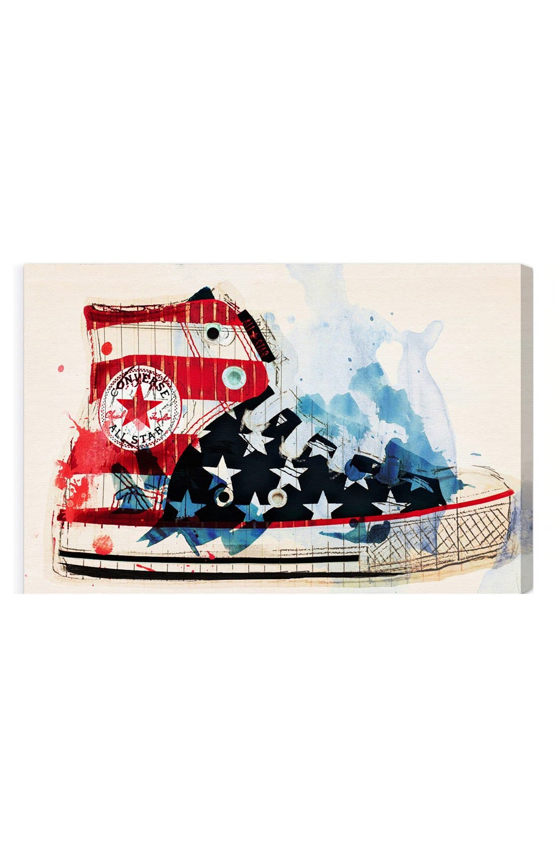Alternate Image 1 Selected - Oliver Gal 'America's Sneakers' Wall Art