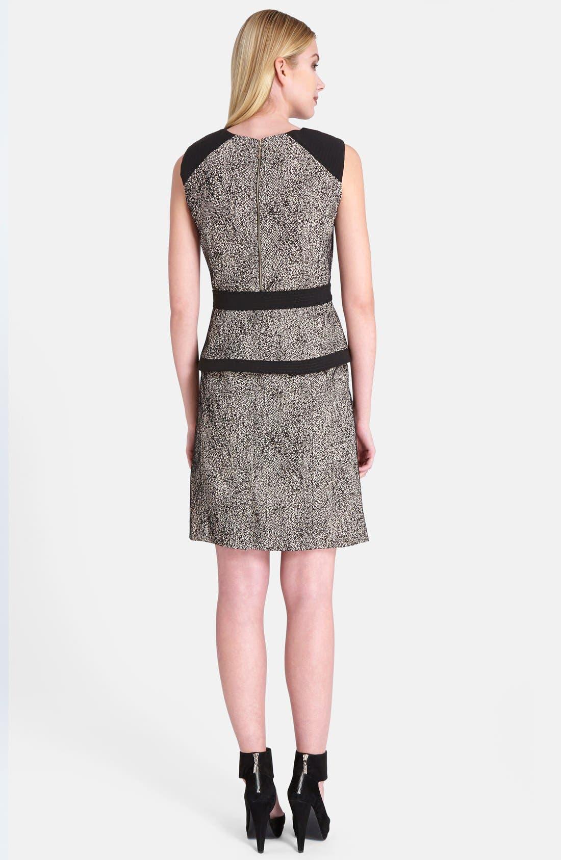 Alternate Image 2  - Catherine Catherine Malandrino 'Veronica' Peplum Sheath Dress