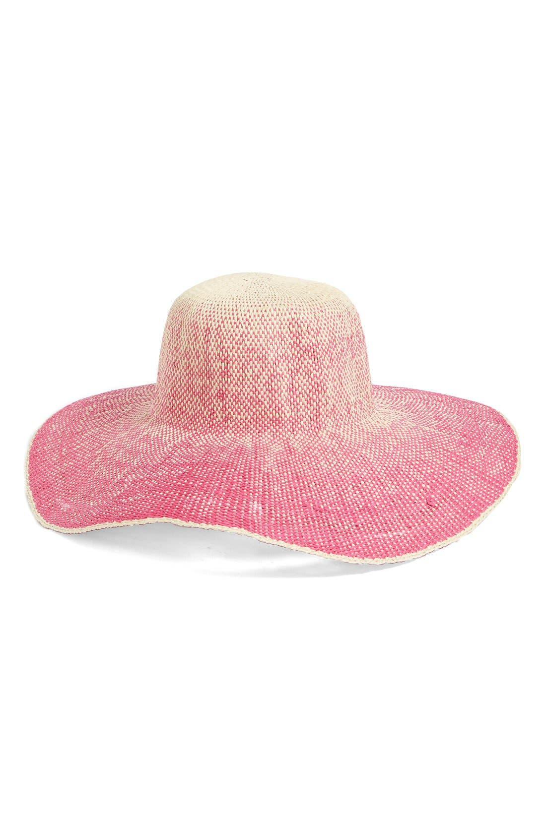 Alternate Image 1 Selected - San Diego Hat Ombré Wide Brim Sun Hat