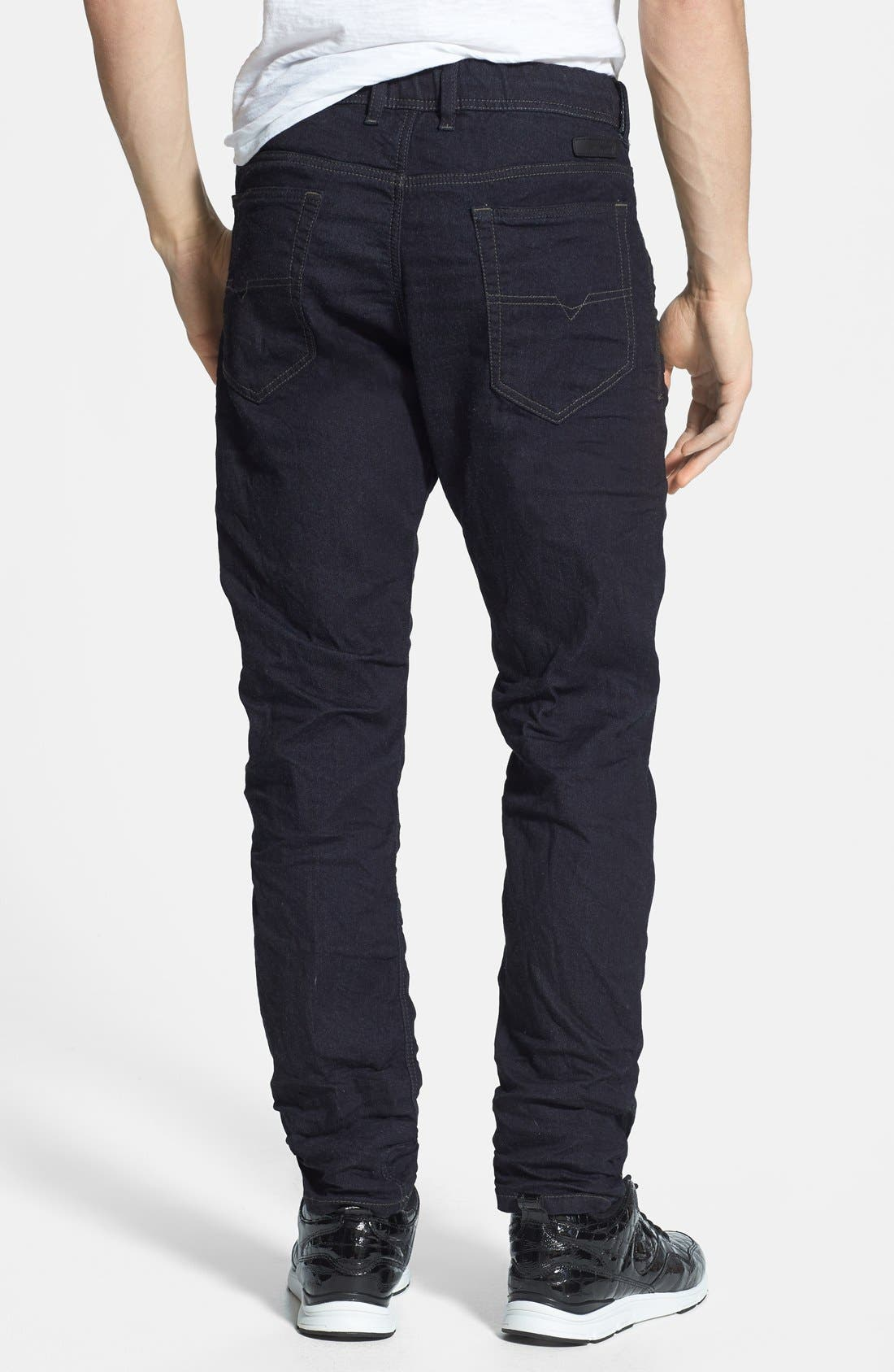 Alternate Image 2  - DIESEL® 'Narrot Jogg' Slim Fit Jeans (600V)