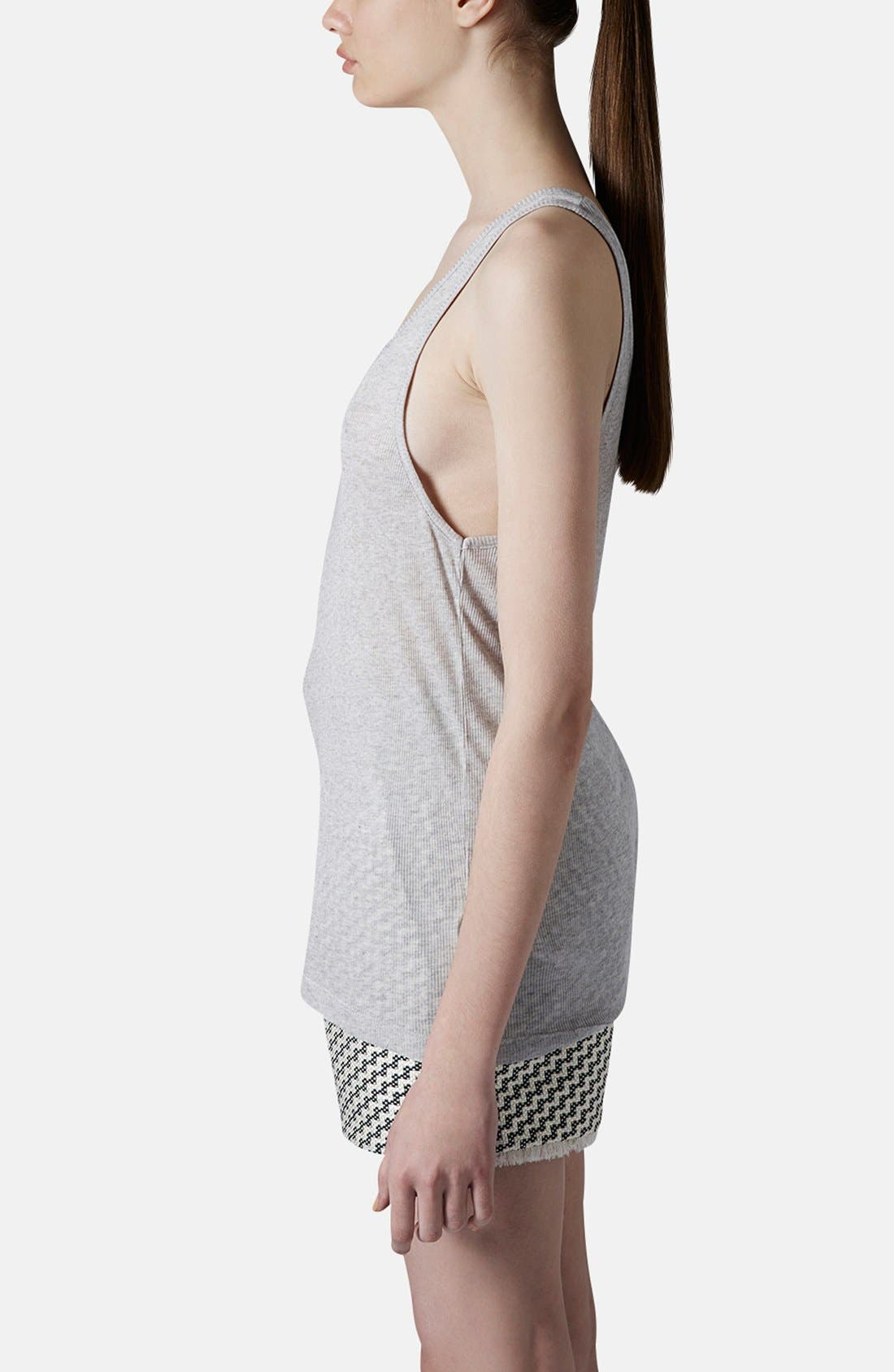 Alternate Image 4  - Topshop Boutique Skinny Tank