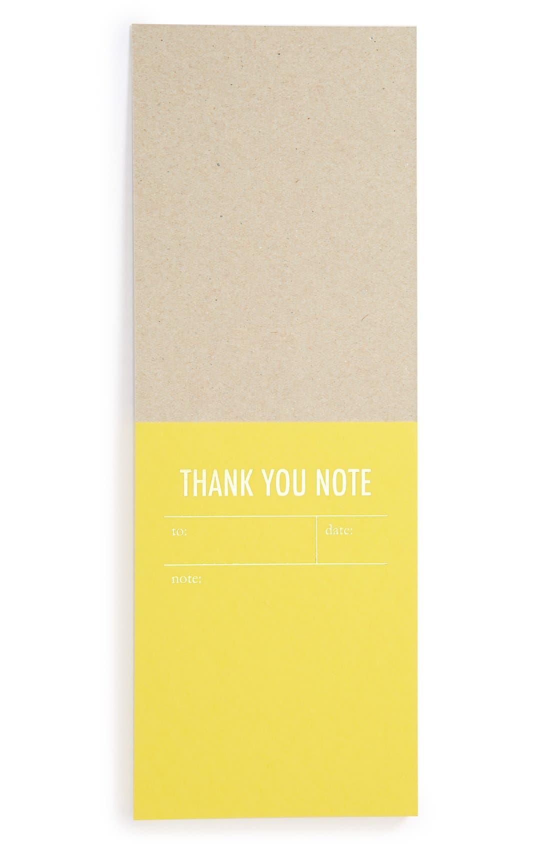Alternate Image 2  - Tokketok 'Thank You Note' Letterpress Note Cards (Set of 30)