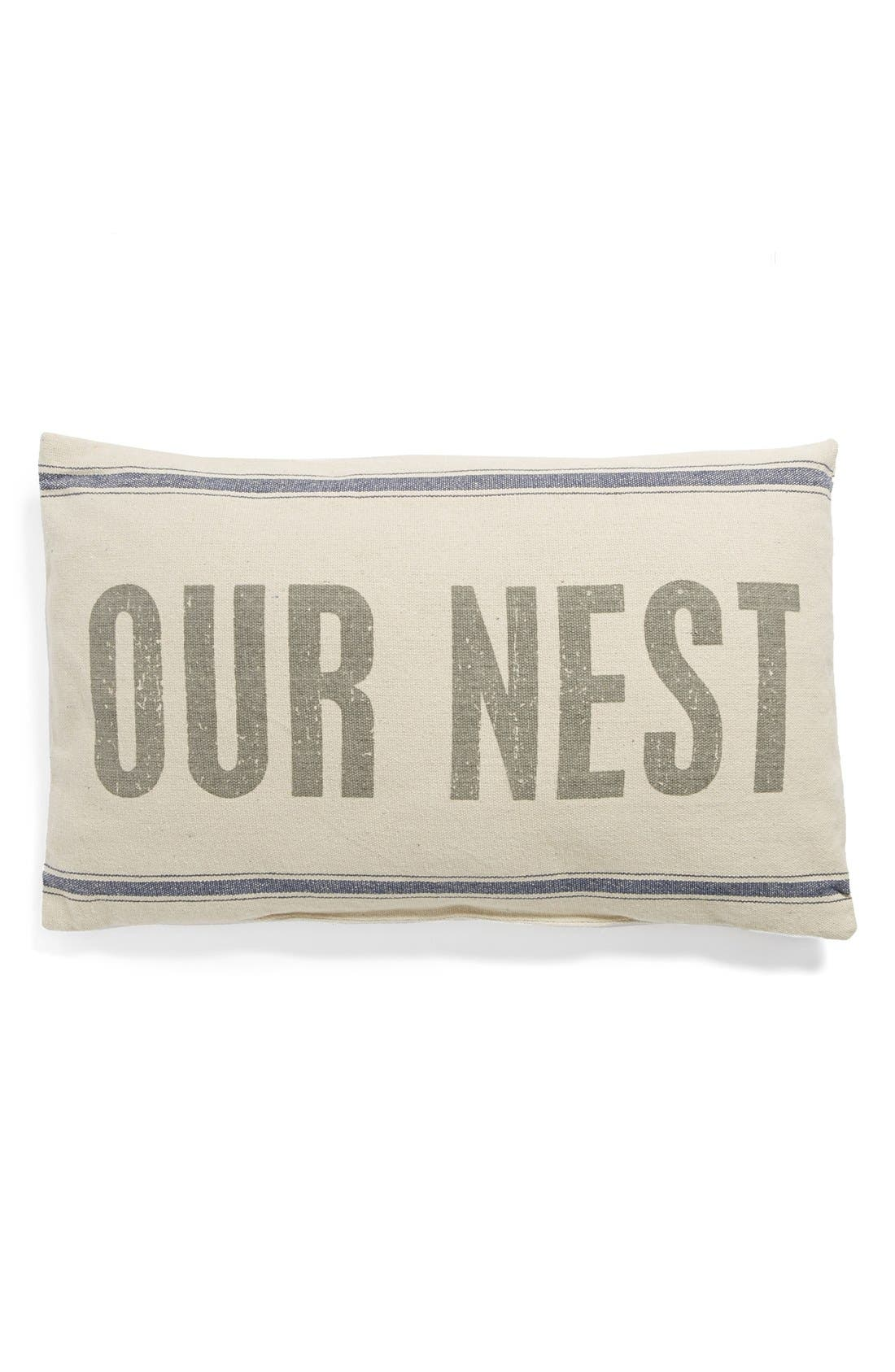 Alternate Image 1 Selected - Primitives by Kathy 'Our Nest' Pillow