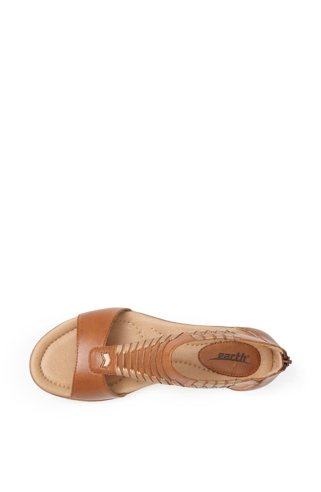 Alternate Image 3  - Earth® 'Shell' Cutout Leather Sandal