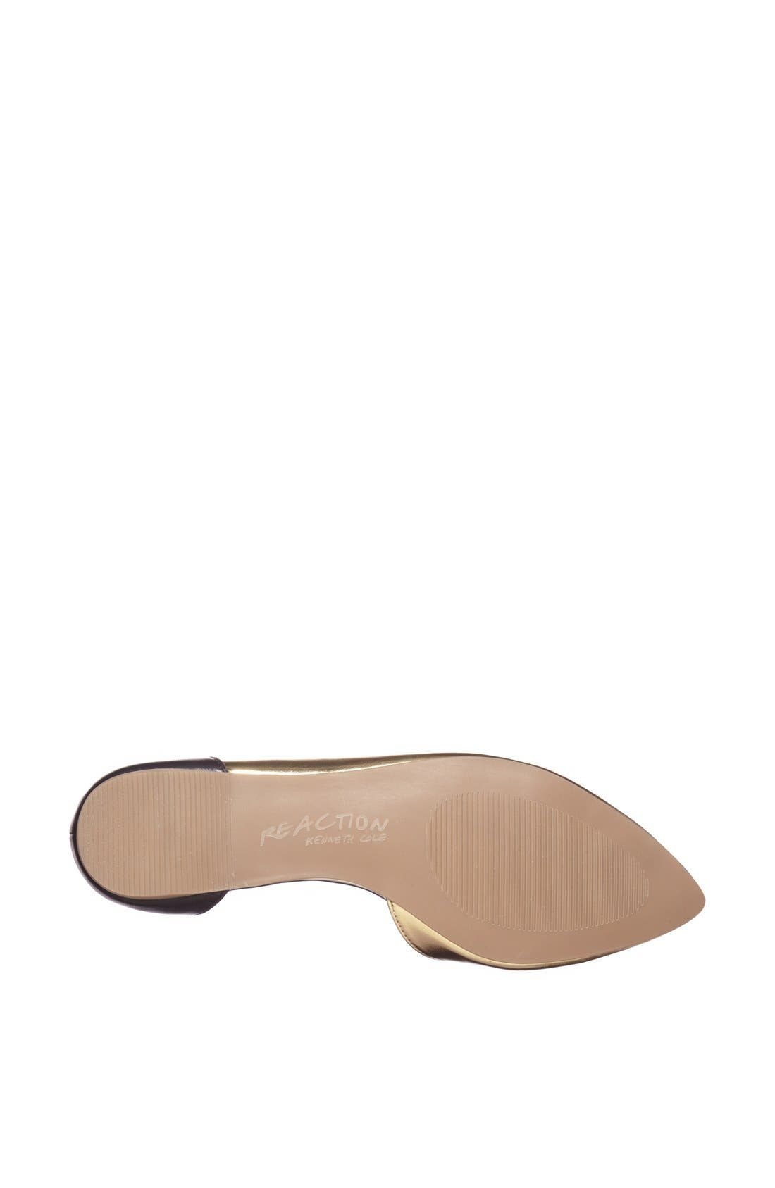 Alternate Image 4  - Kenneth Cole Reaction 'Pose Off 2' Cuff Ankle Strap Half d'Orsay Sandal