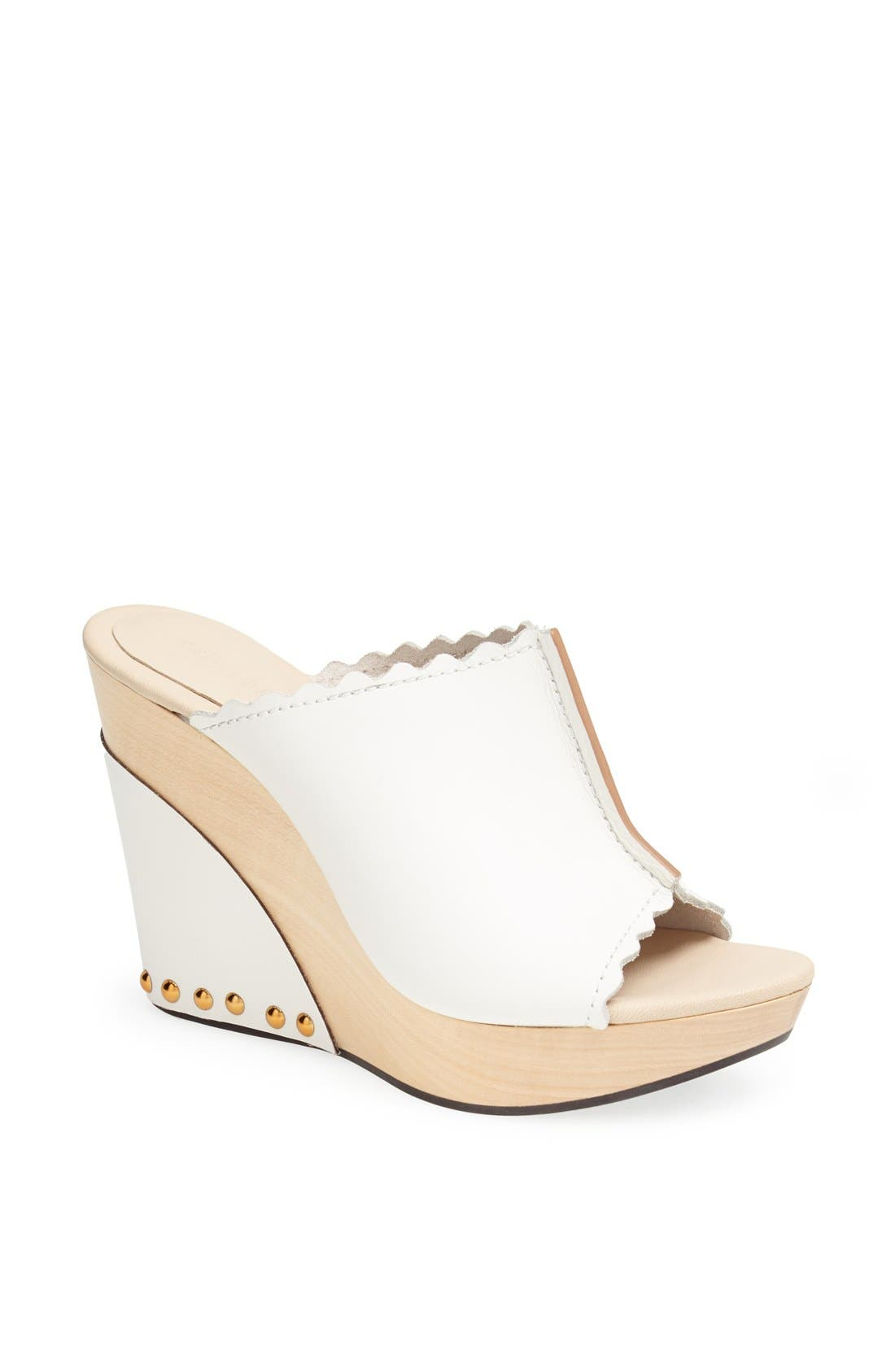 Alternate Image 1 Selected - See by Chloé Wedge Slide Sandal (Online Only)