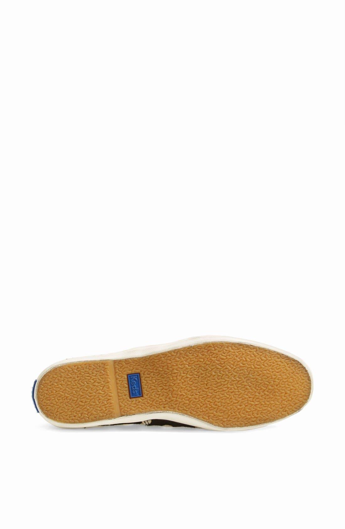 Alternate Image 4  - Keds® 'Champion Spur' Calf Hair Sneaker (Online Only) (Women)