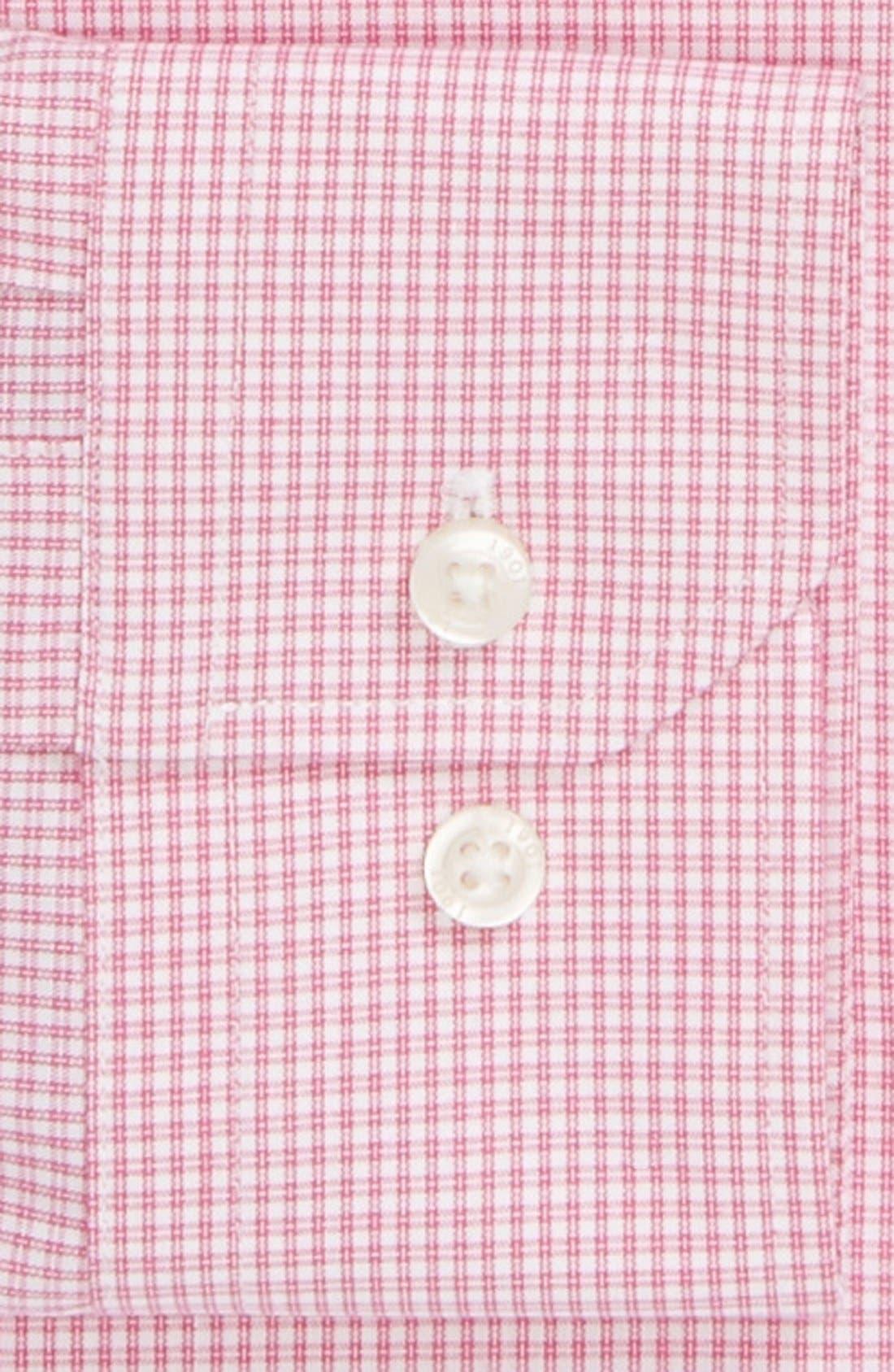 Alternate Image 2  - 1901 Trim Fit Non-Iron Check Dress Shirt