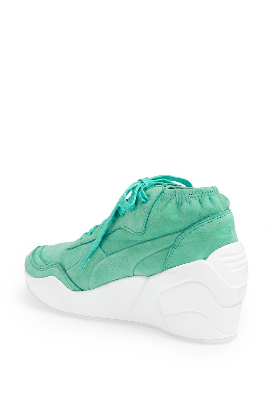 Alternate Image 2  - PUMA 'Trinomic' Wedge Sneaker (Women)