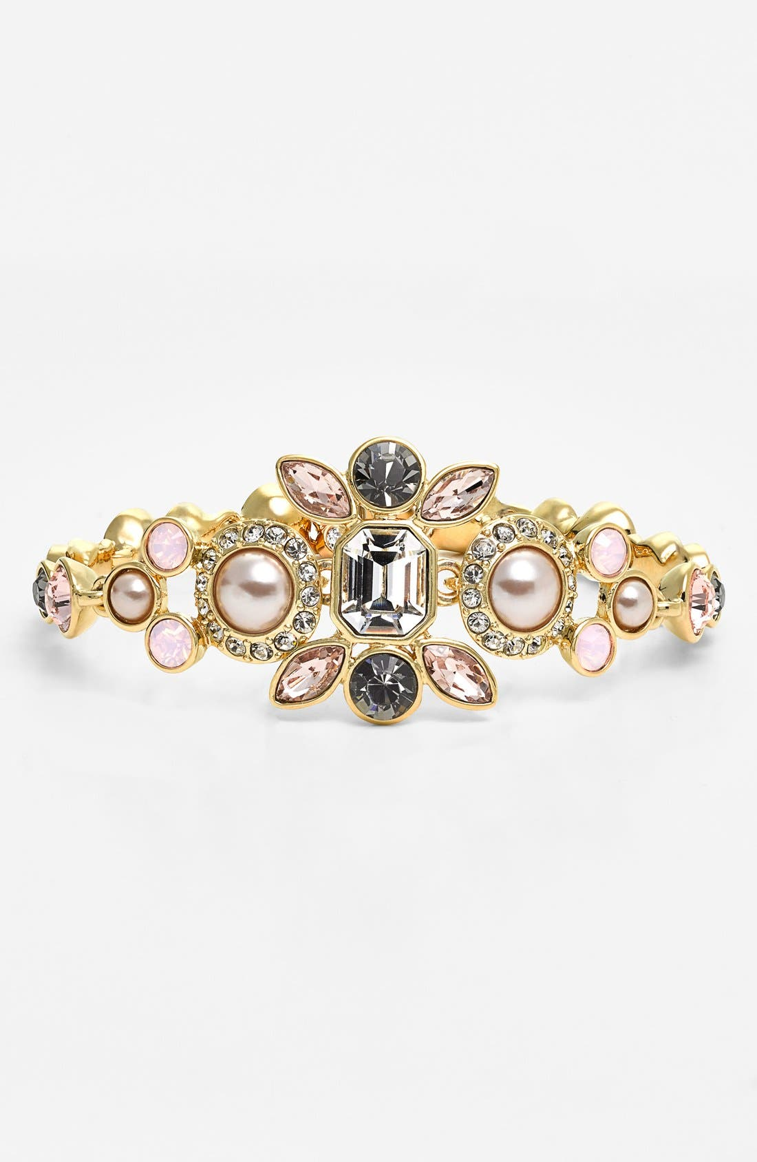 Alternate Image 1 Selected - Givenchy Crystal & Faux Pearl Bracelet