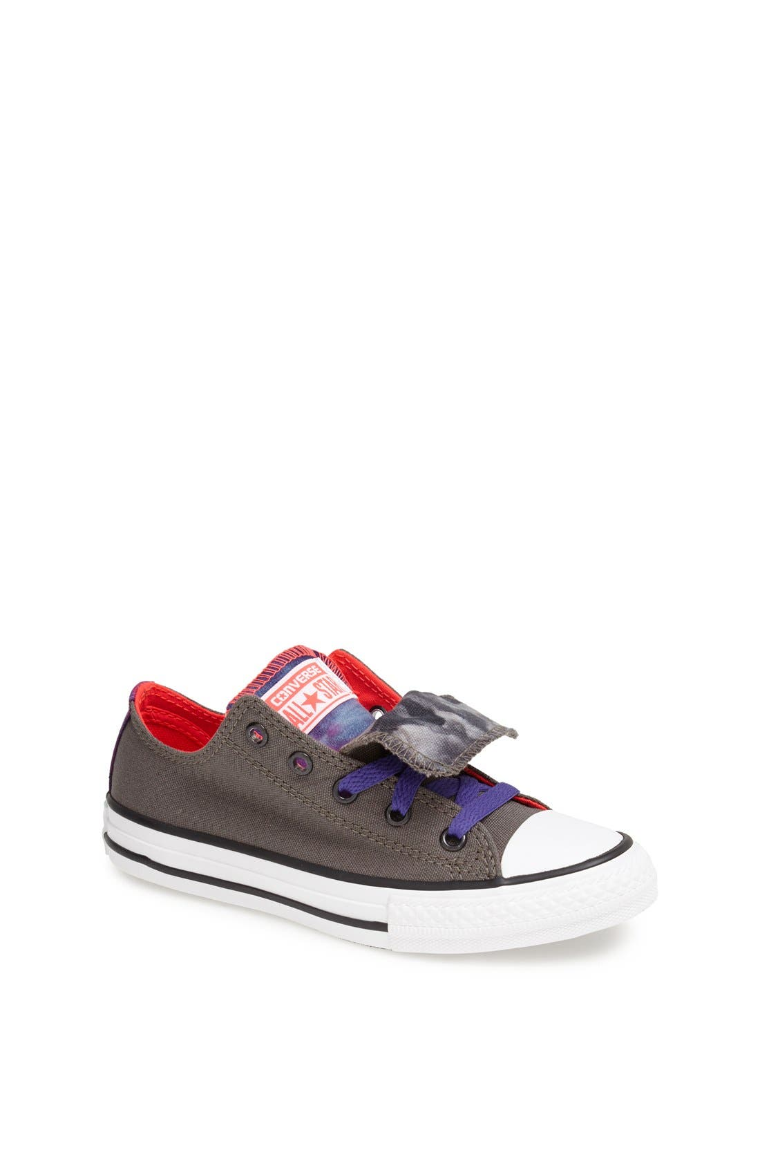 Main Image - Converse Chuck Taylor® Double Zip Sneaker (Toddler, Little Kid & Big Kid)