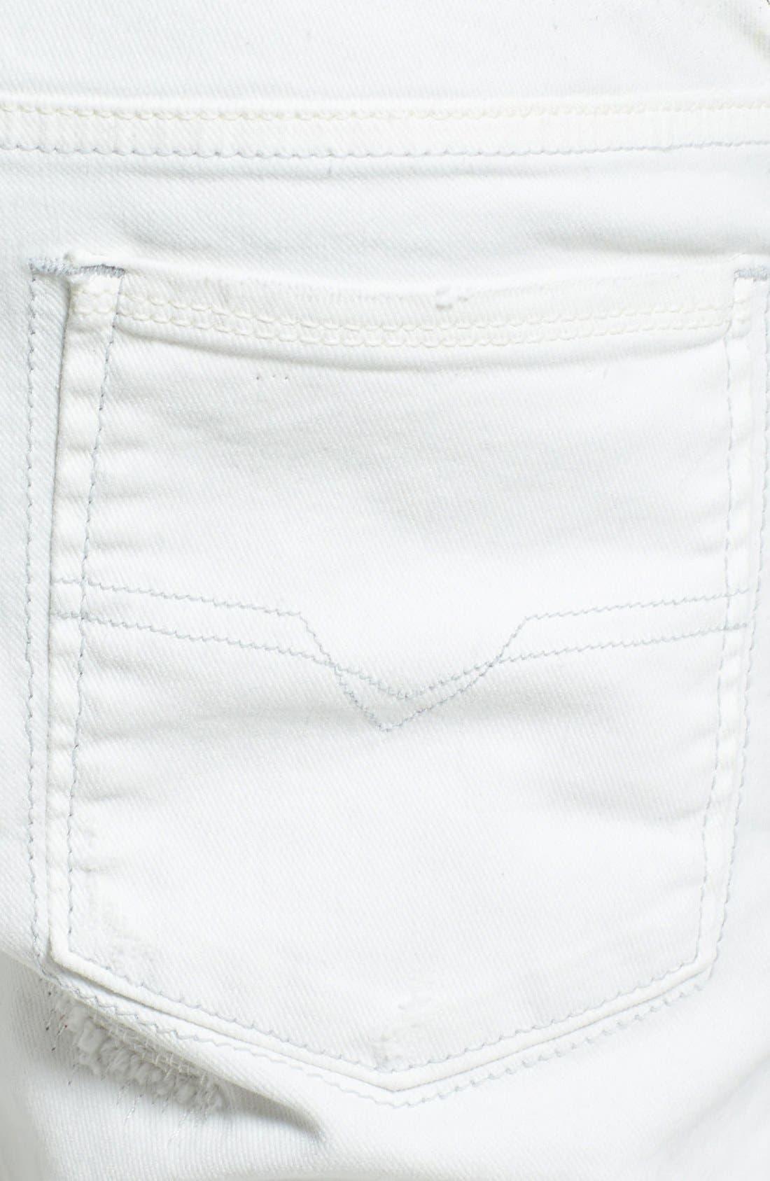 Alternate Image 4  - DIESEL® 'Sleenker' Skinny Fit Jeans (828G)