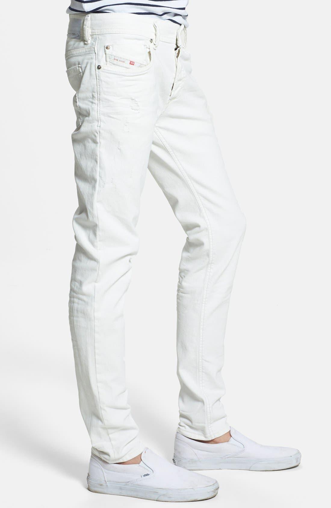 Alternate Image 3  - DIESEL® 'Sleenker' Skinny Fit Jeans (828G)