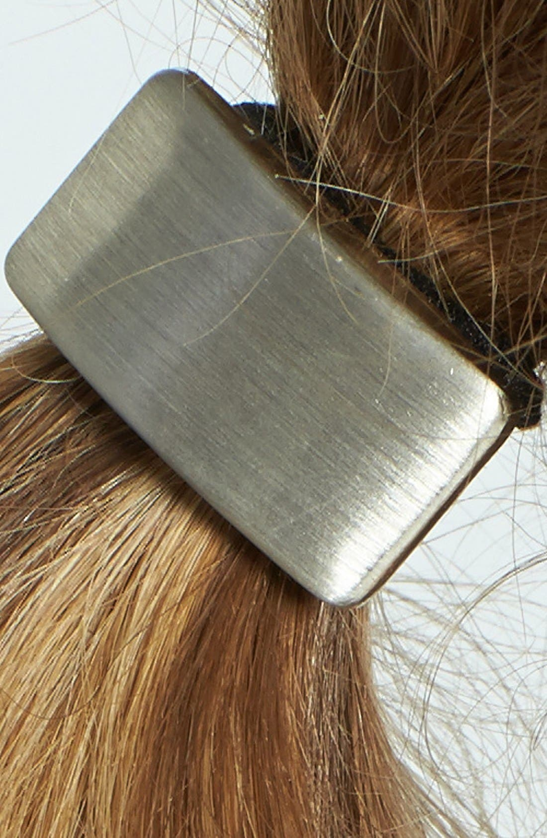 Alternate Image 2  - Tasha Rectangle Cuff Ponytail Holder