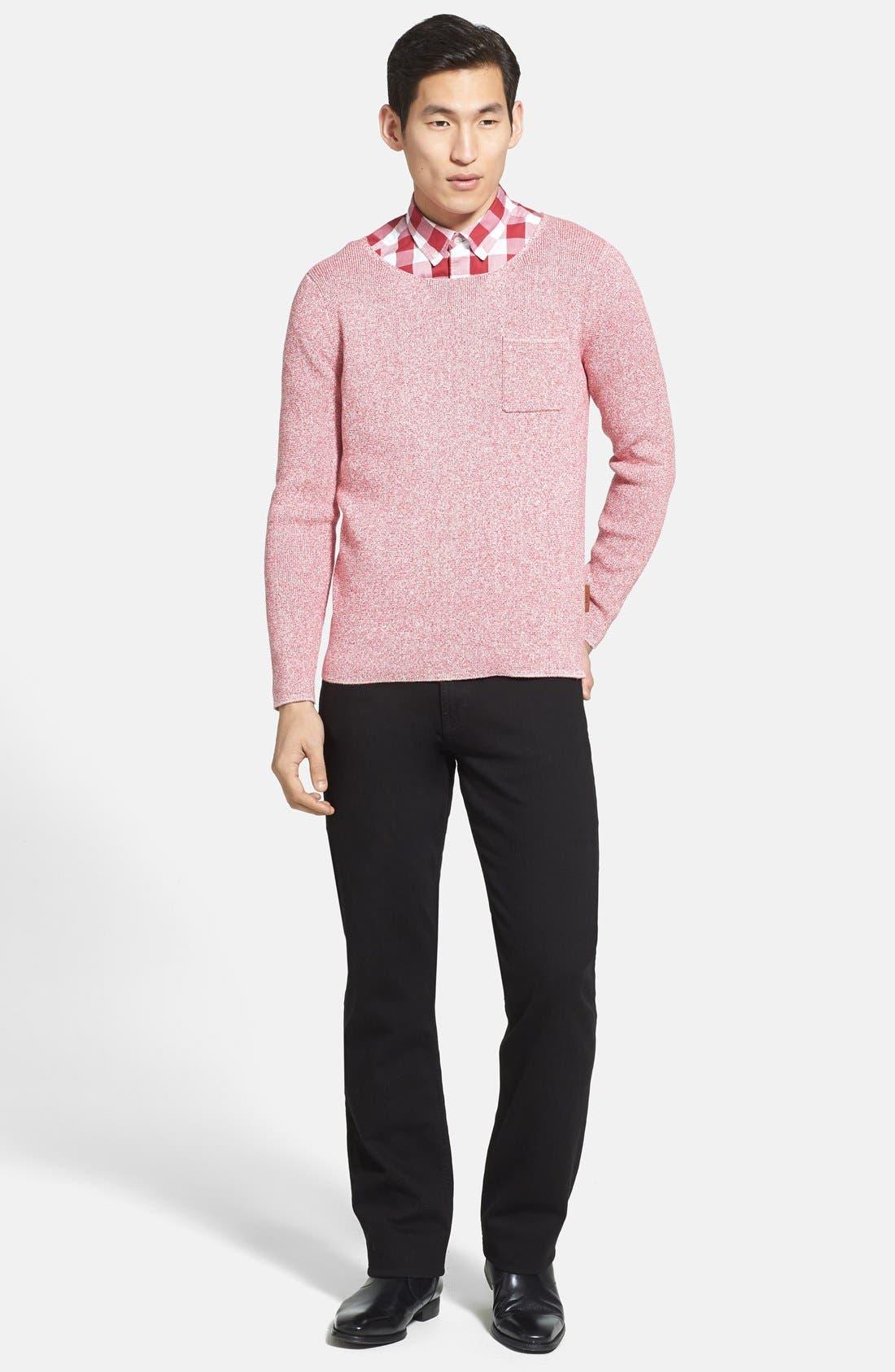 Alternate Image 4  - Burberry Brit 'Hammonds' Modern Fit Knit Sweater