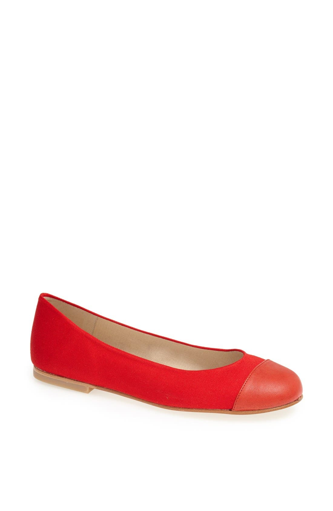 Main Image - French Sole 'Lexi' Cap Toe Skimmer