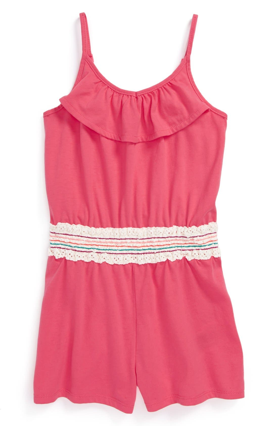 Main Image - Roxy 'Creekside' Romper (Little Girls & Big Girls)