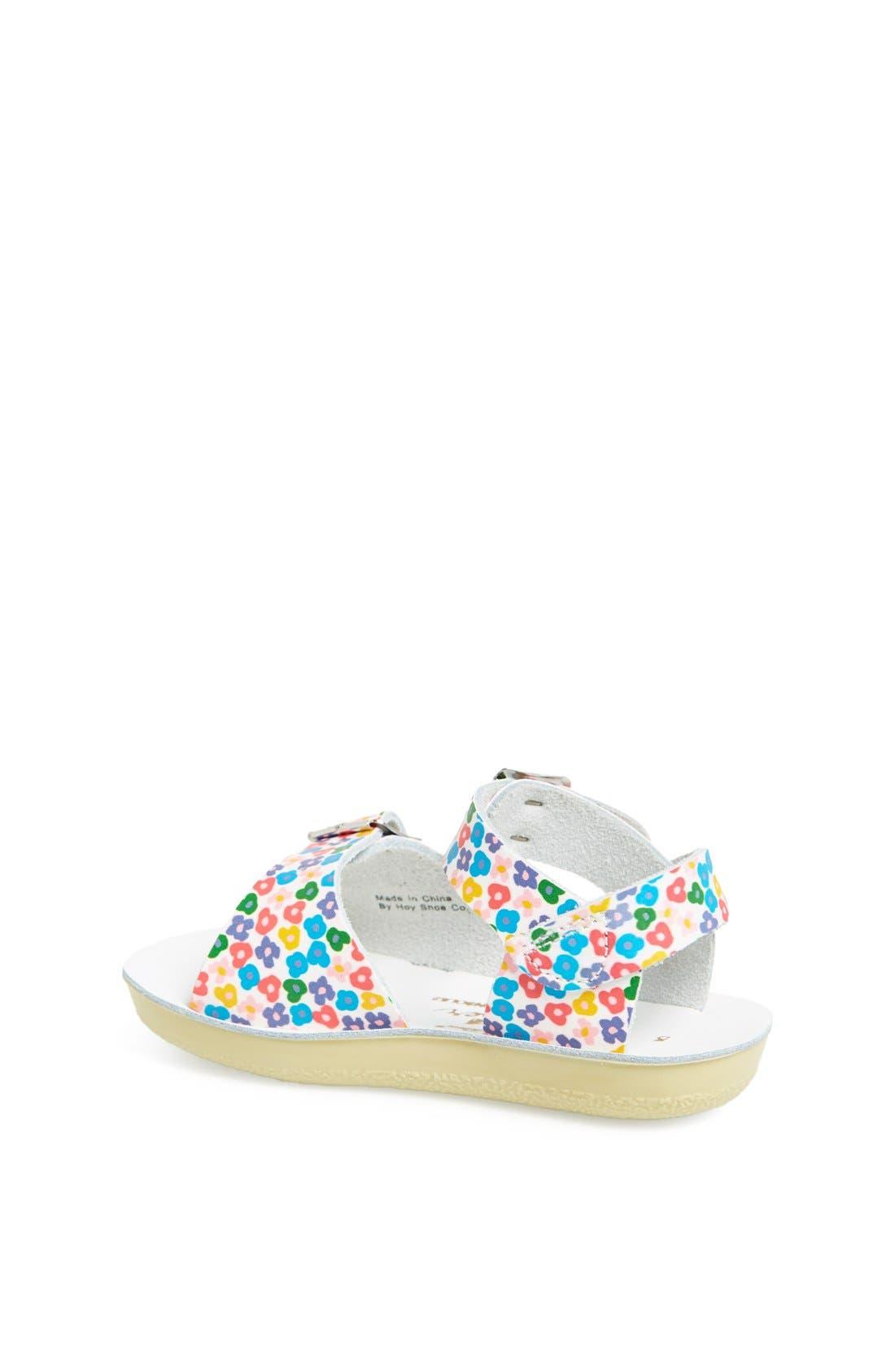 Alternate Image 2  - Salt Water Sandals by Hoy 'Surfer' Sandal (Baby & Walker)