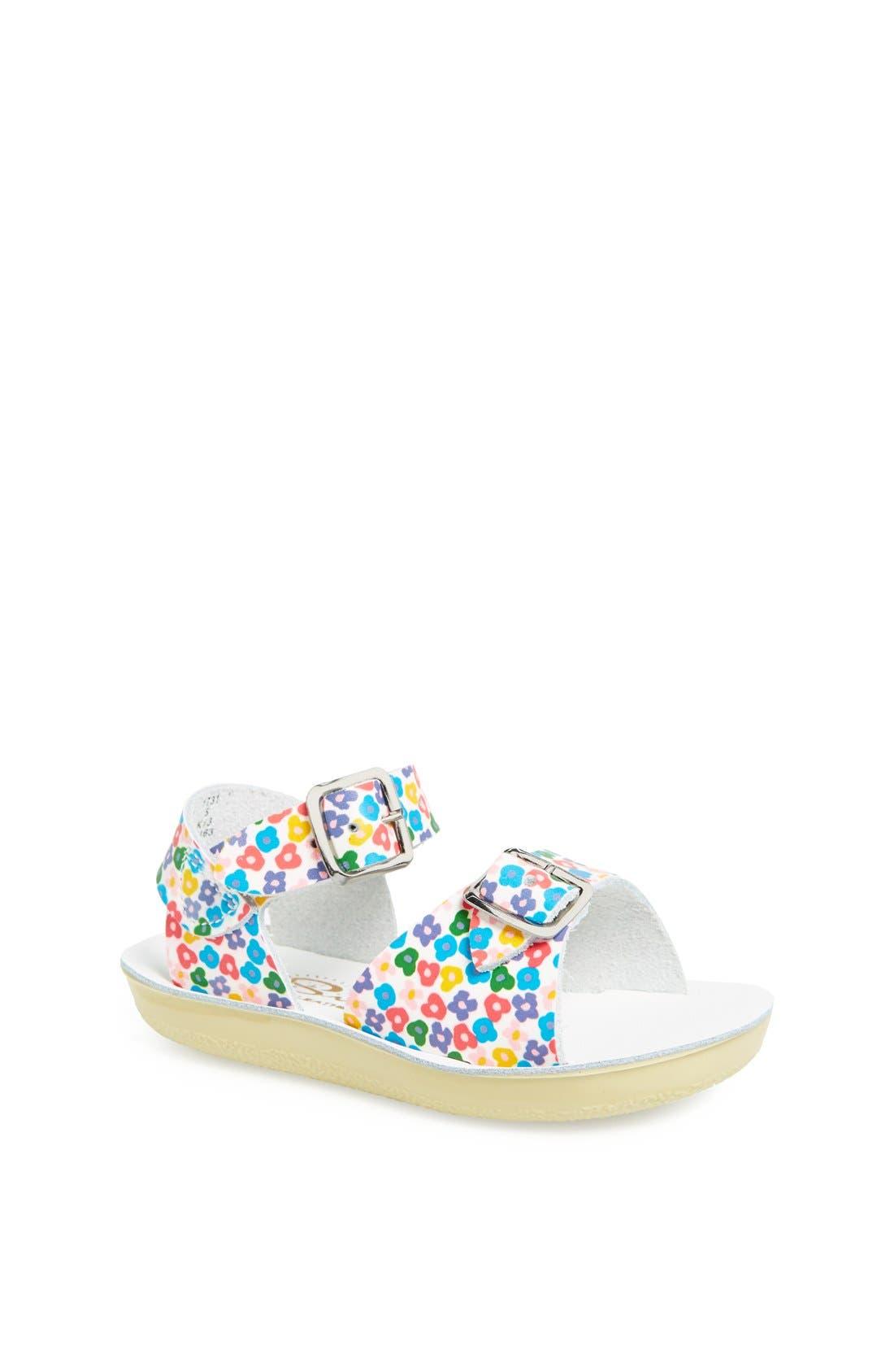 Alternate Image 1 Selected - Salt Water Sandals by Hoy 'Surfer' Sandal (Baby & Walker)