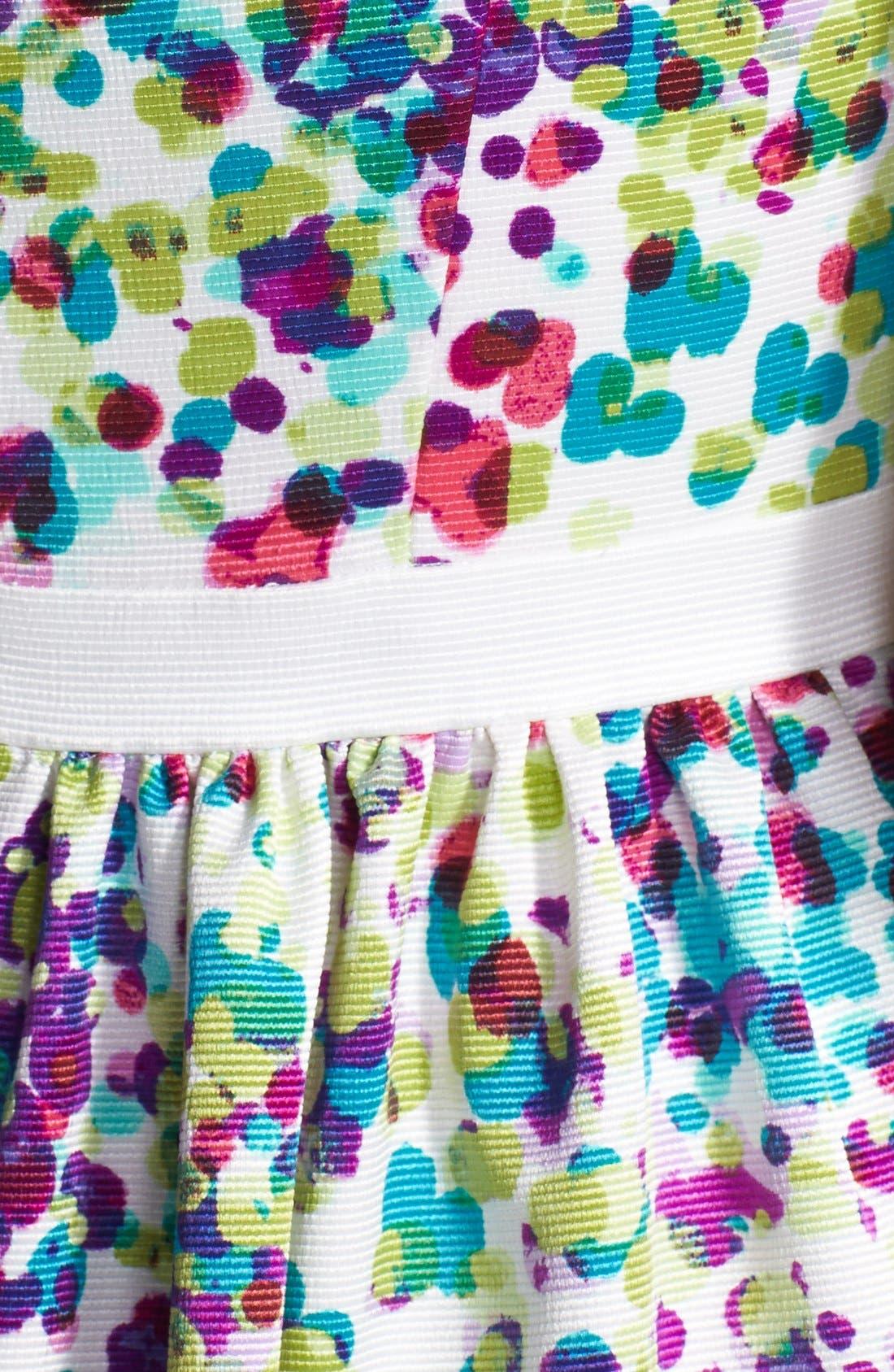 Alternate Image 3  - Ivy & Blu Print Ottoman Knit Fit & Flare Dress