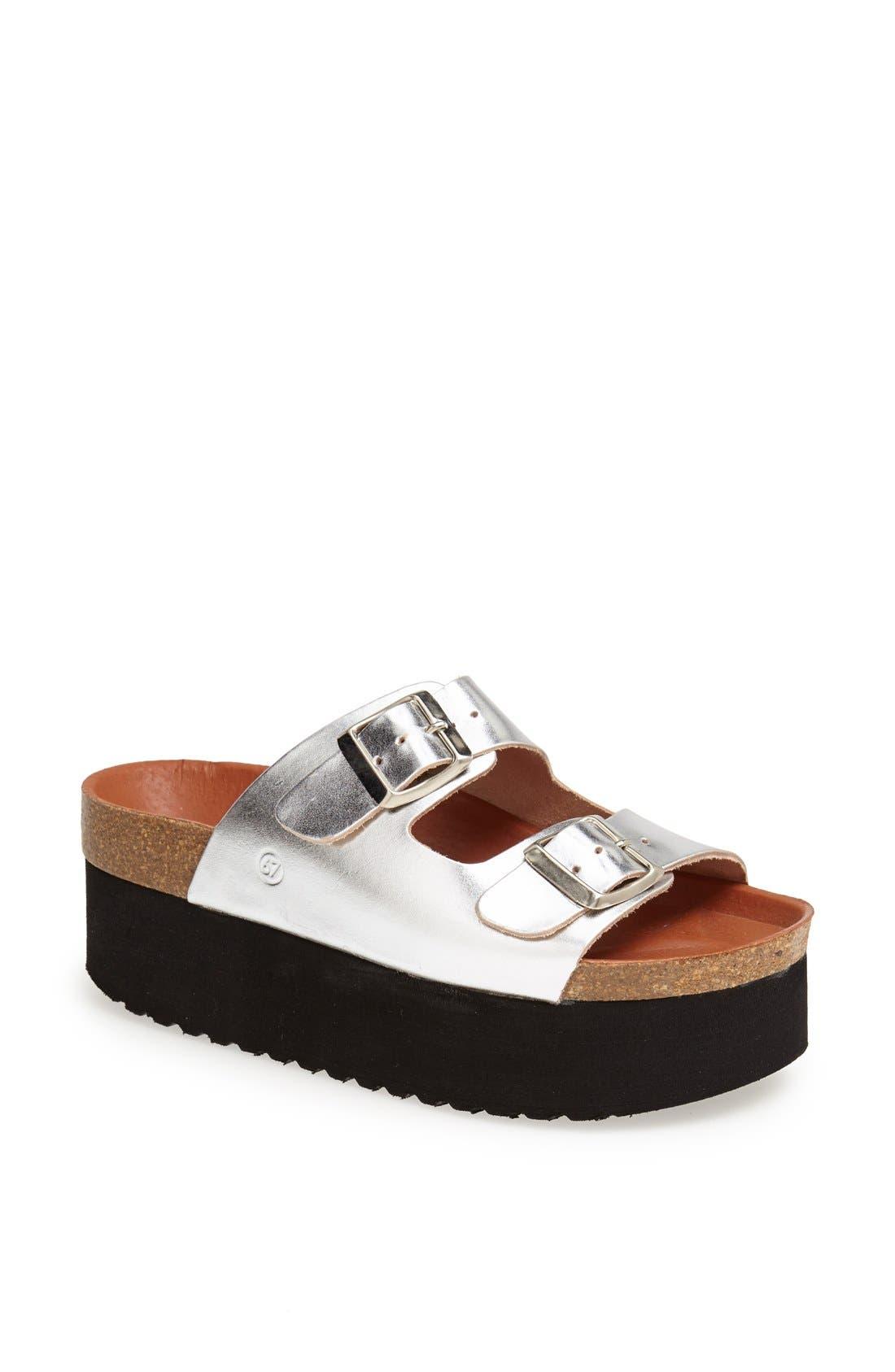 Alternate Image 1 Selected - SIXTYSEVEN 'Indigo' Sandal