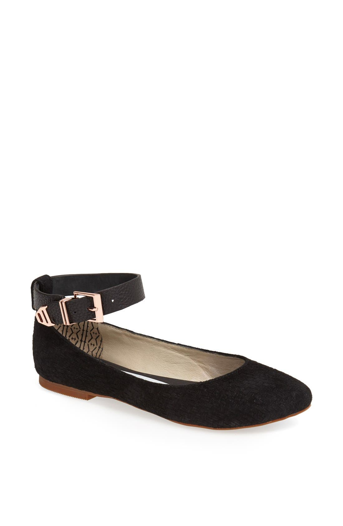 Alternate Image 1 Selected - Matt Bernson 'Major' Ankle Strap Flat