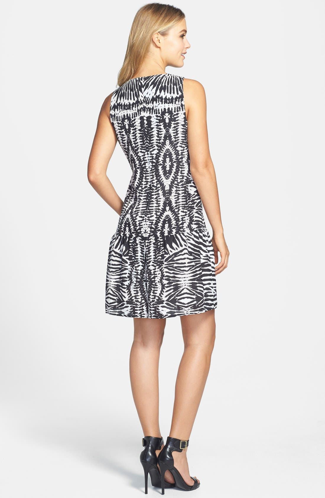 Alternate Image 2  - Vince Camuto 'Tribal Impressions' Sleeveless Dress