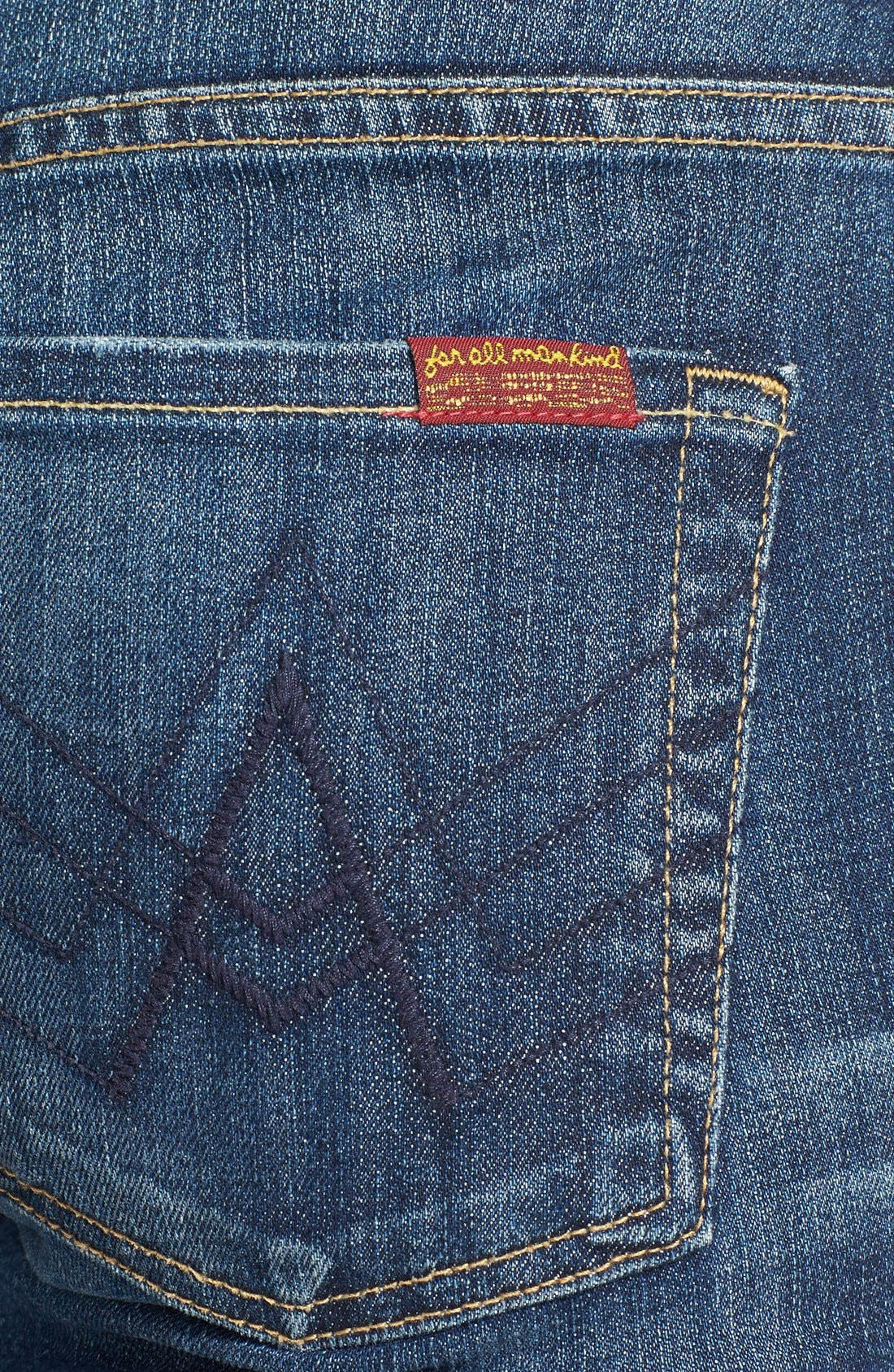 Alternate Image 3  - 7 For All Mankind® Flare Jeans (Nouveau New York)