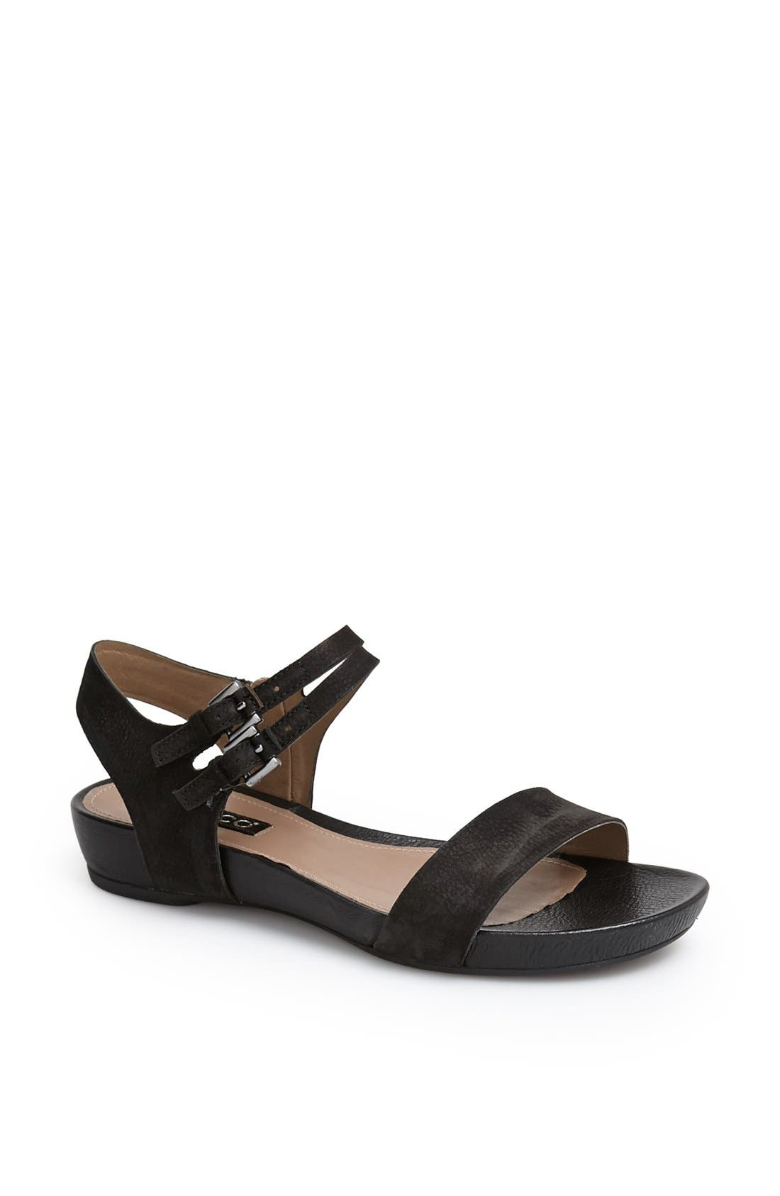 Alternate Image 1 Selected - ECCO 'Rungsted' Leather Sandal
