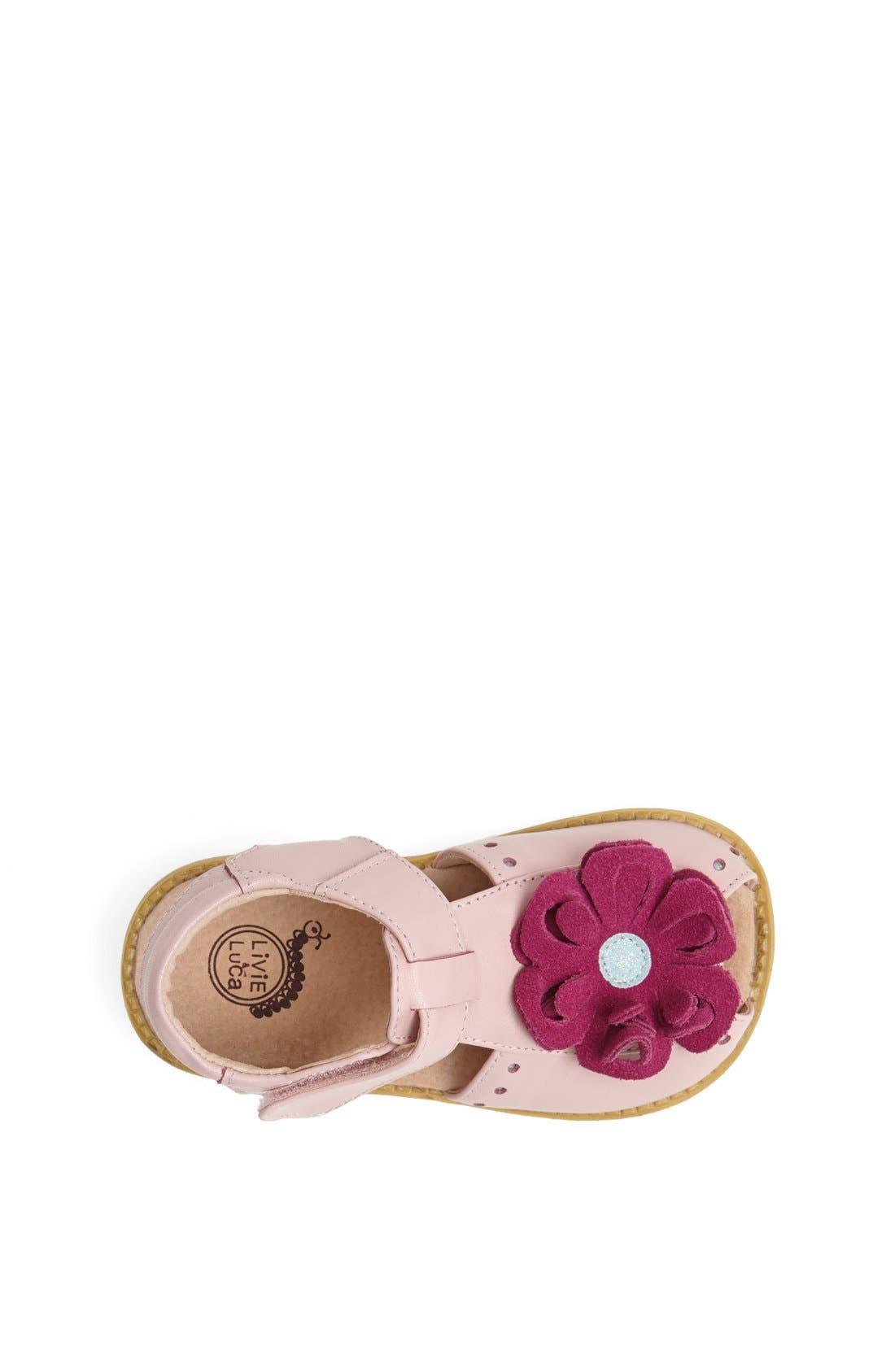 Alternate Image 3  - Livie & Luca 'Bloom' Sandal (Baby, Walker & Toddler)