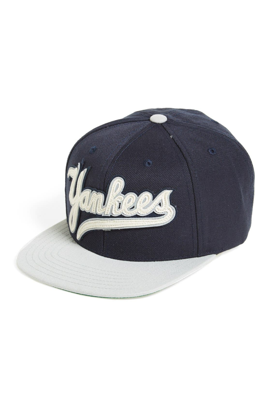 Alternate Image 1 Selected - American Needle 'New York Yankees - Flynn' Snapback Cap