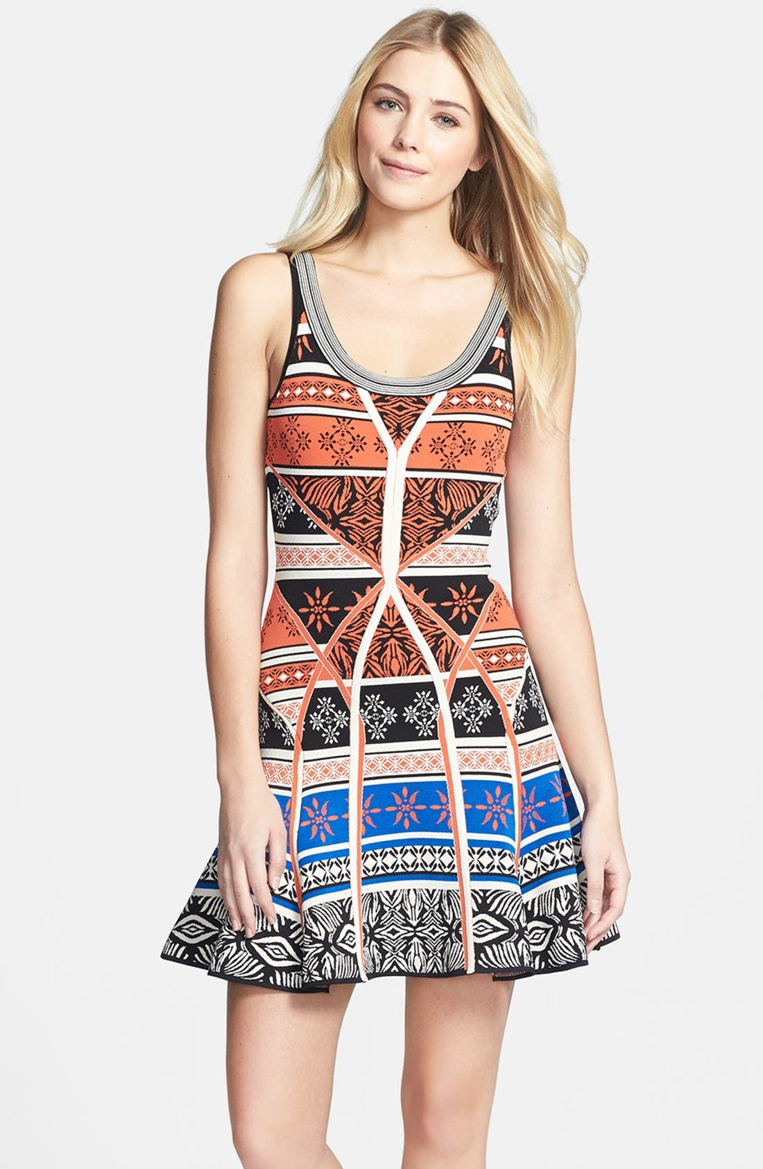 Alternate Image 3  - Diane von Furstenberg 'Ilsa' Print Knit Tank Dress