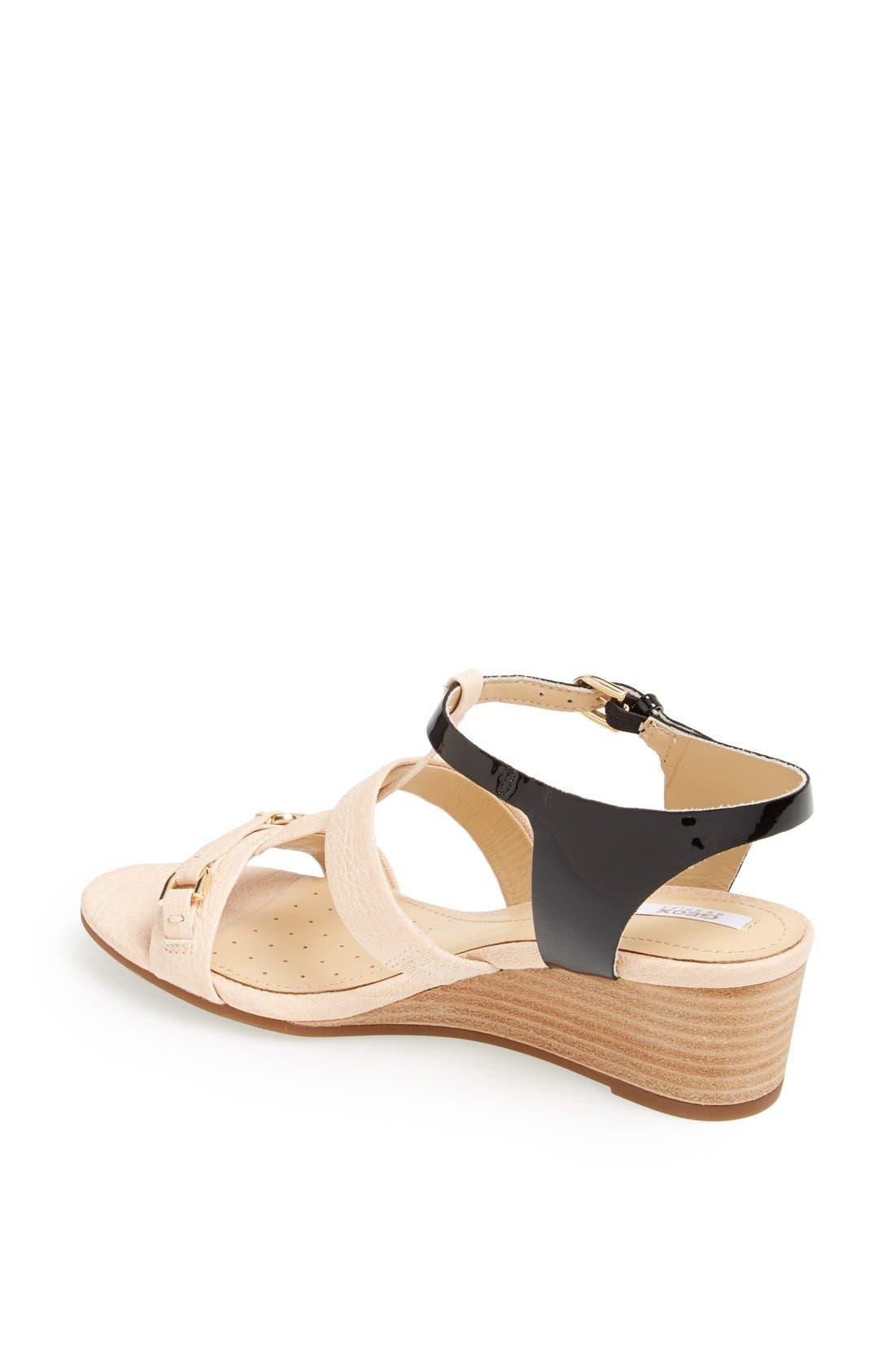 Alternate Image 2  - Geox 'Lupe' Leather Sandal