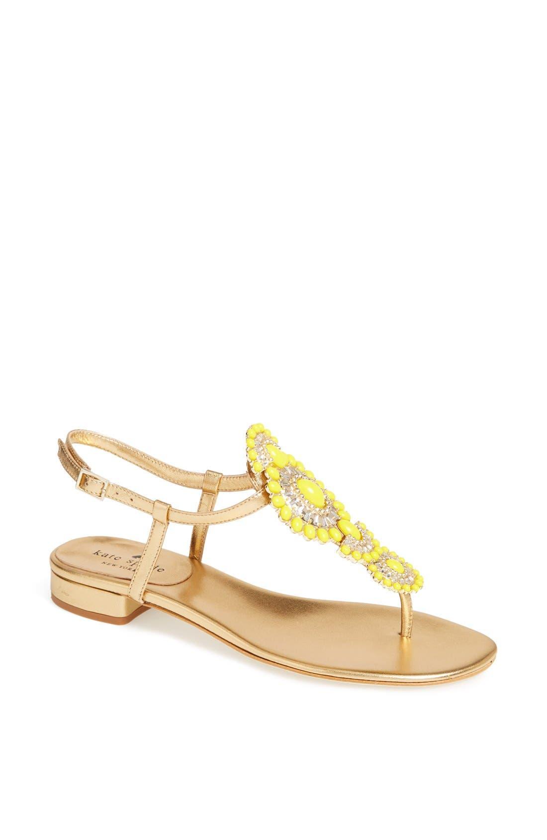 Alternate Image 1 Selected - kate spade new york 'fiore' sandal