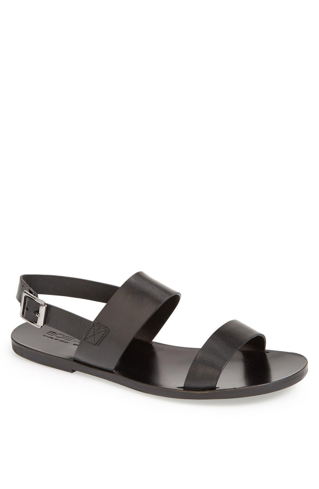 Alternate Image 1 Selected - Boemos Leather Sandal (Men)