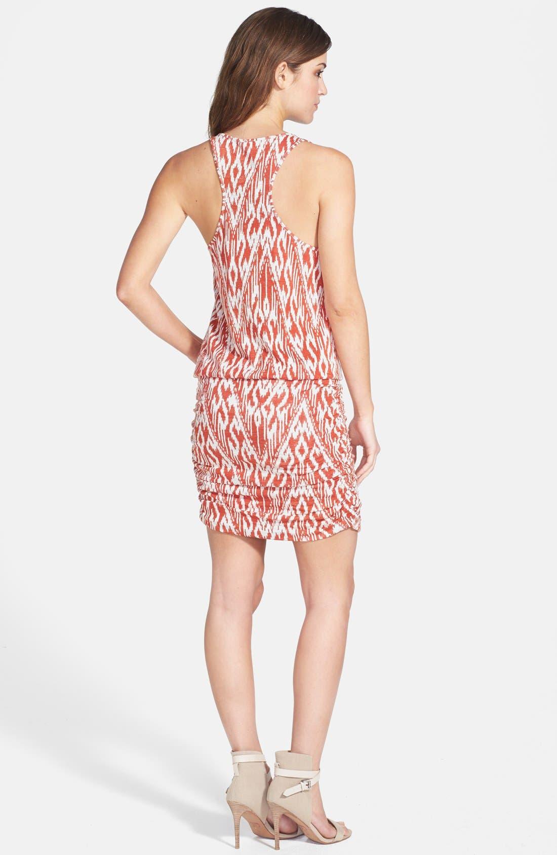 Alternate Image 2  - Soft Joie Print Ruched Skirt Minidress