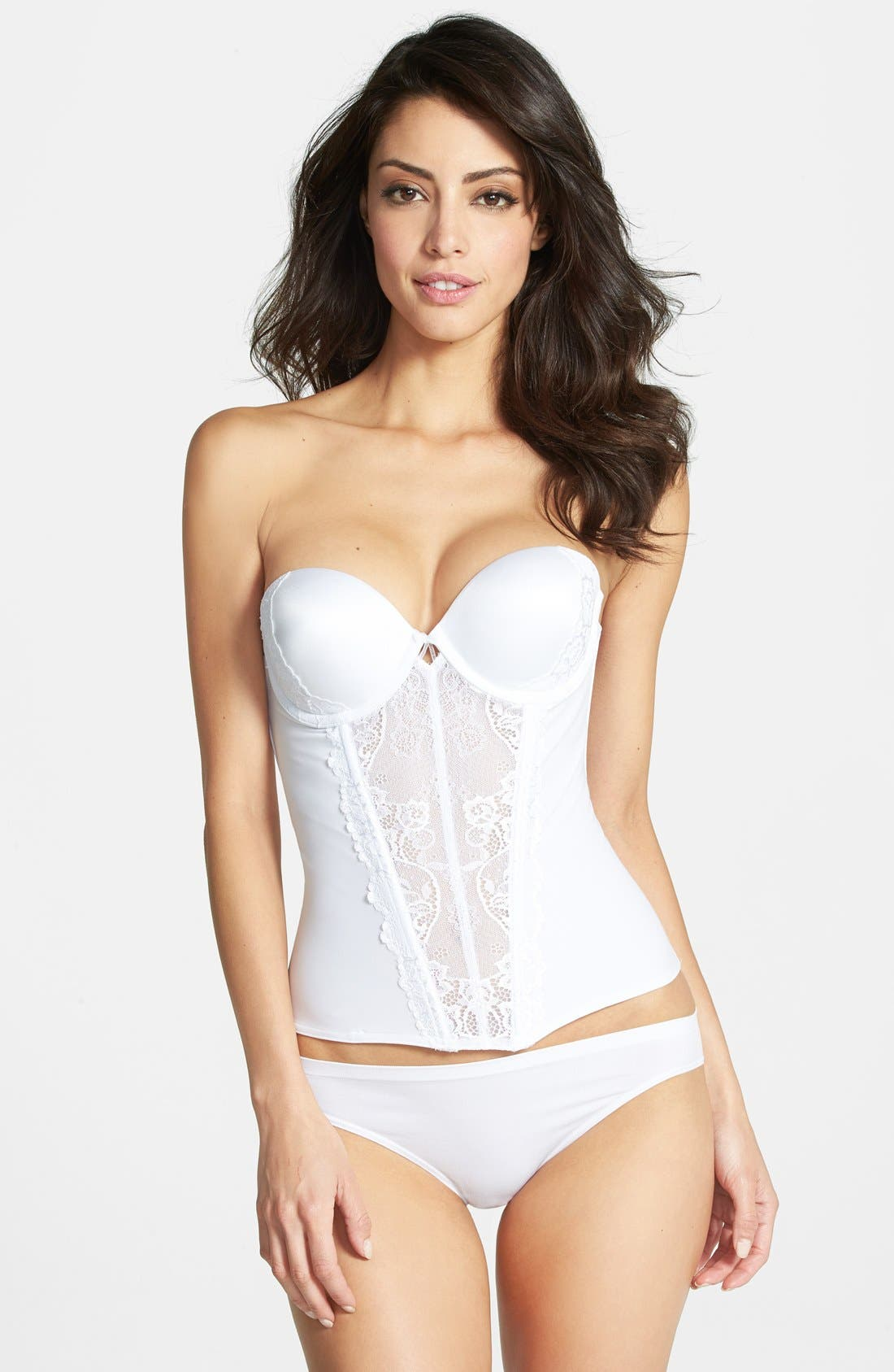 FELINA 'Caress Too' Lace Underwire Bustier