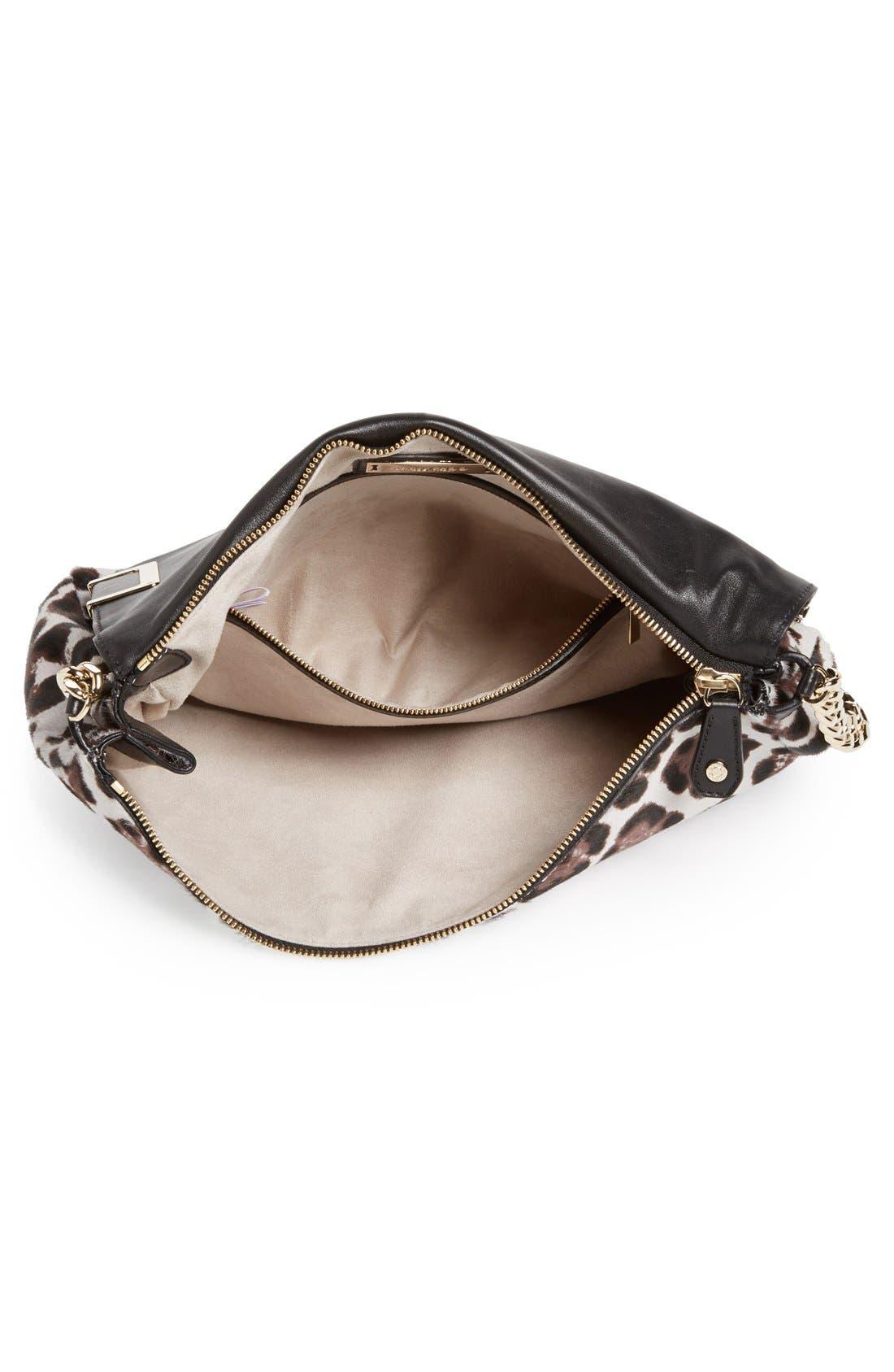 Alternate Image 5  - Jimmy Choo 'Ally' Genuine Calf Hair Shoulder Bag