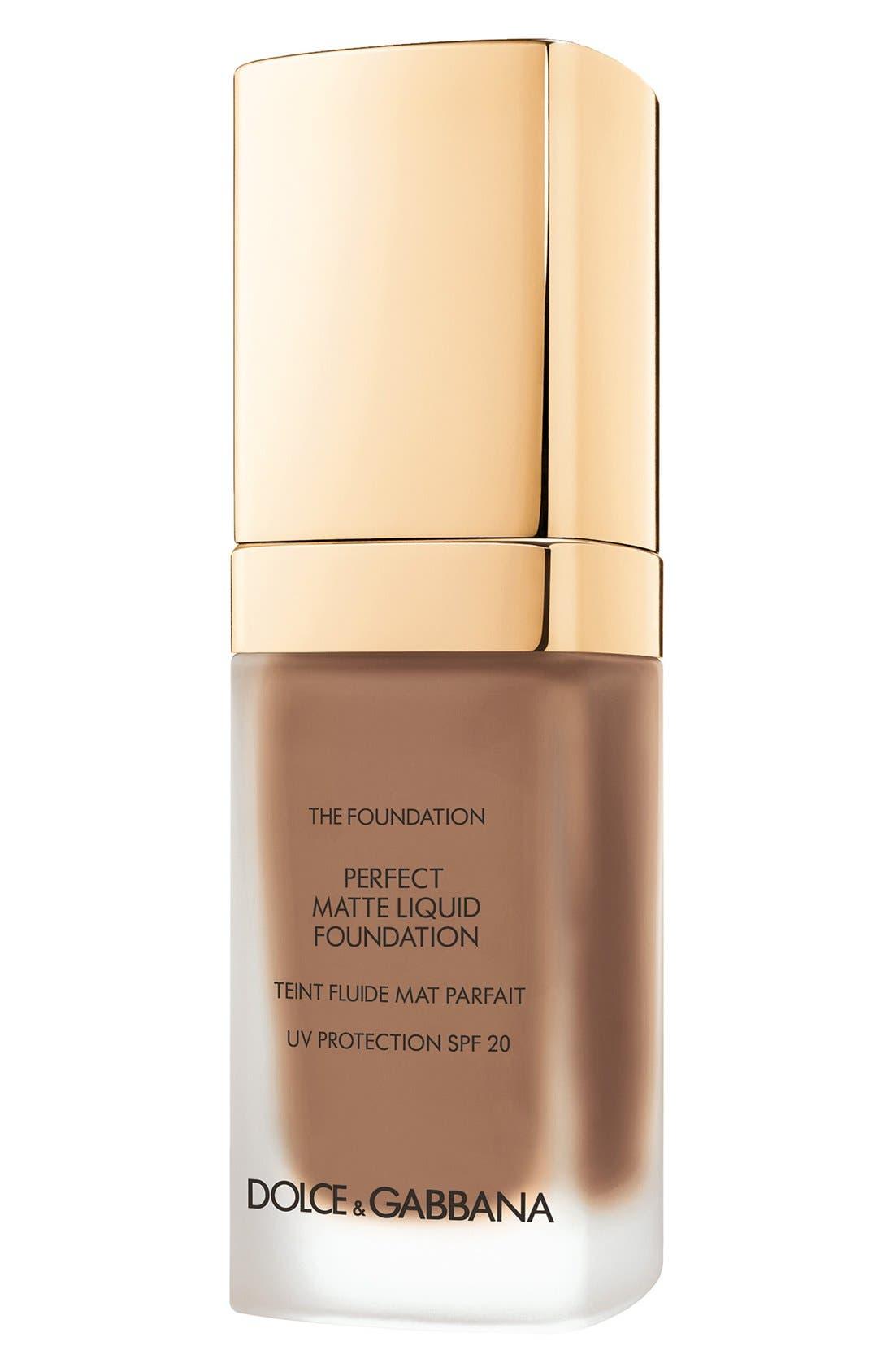 Dolce&Gabbana Beauty Perfect Matte Liquid Foundation