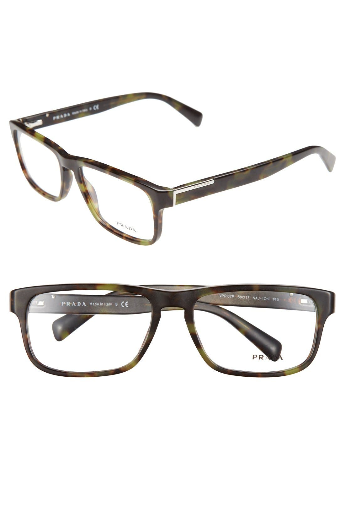 Main Image - Prada 56mm Optical Glasses