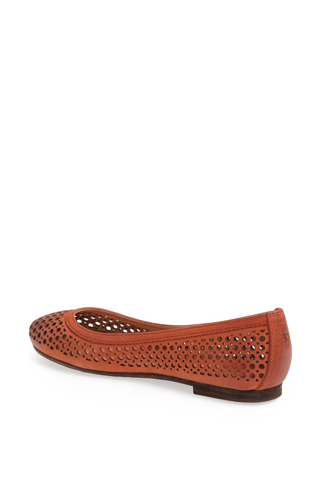 Alternate Image 2  - Frye 'Carson' Perforated Leather Ballet Flat