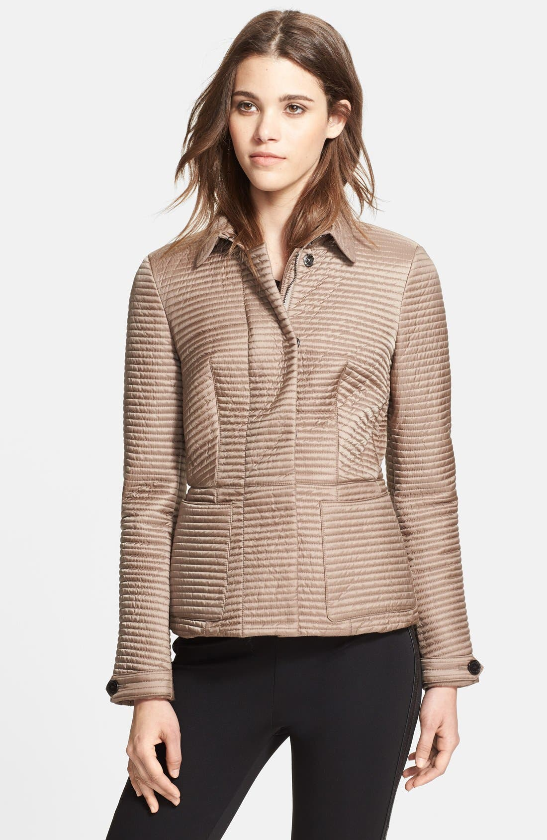 Alternate Image 1 Selected - Burberry London Quilted Jacket