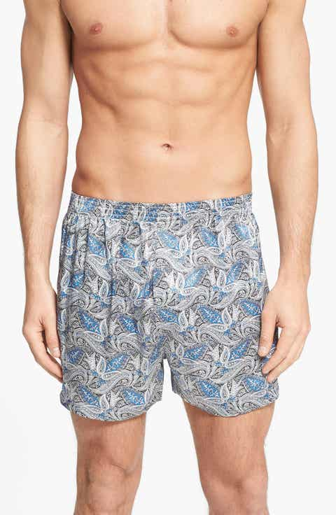Majestic International Cypress Silk Boxers