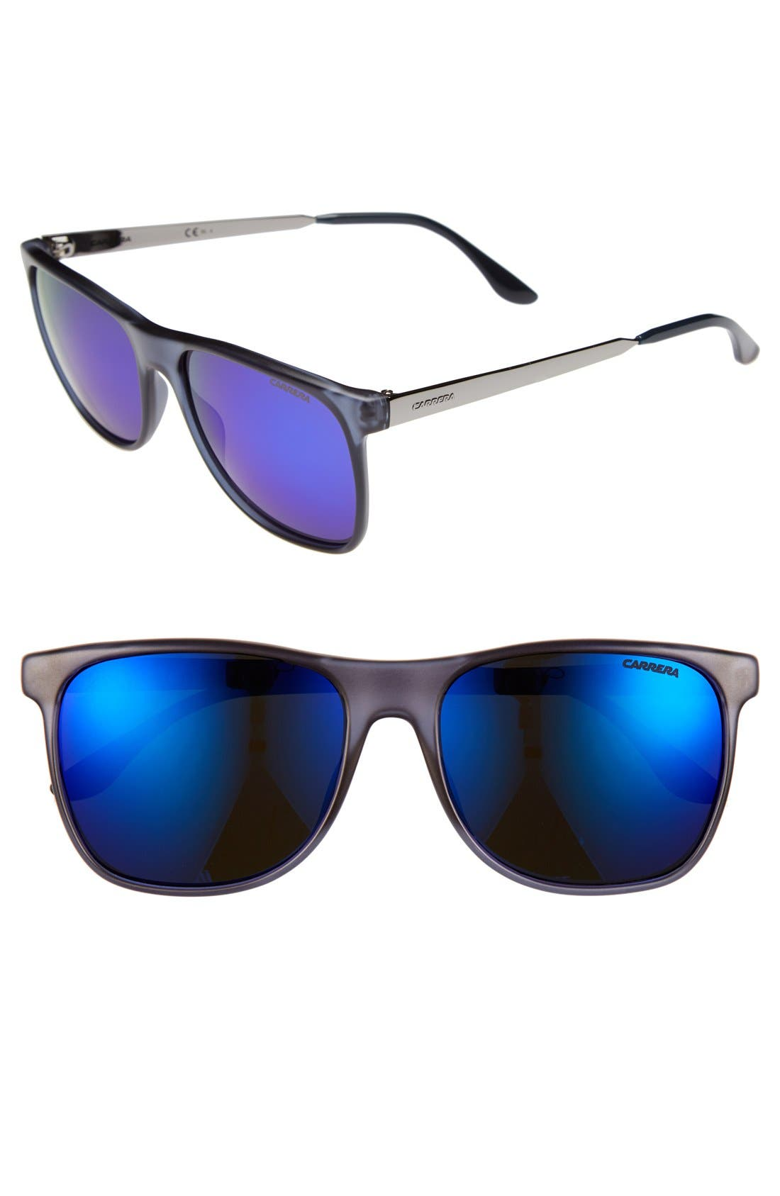 Alternate Image 1 Selected - Carrera Eyewear 57mm Retro Sunglasses